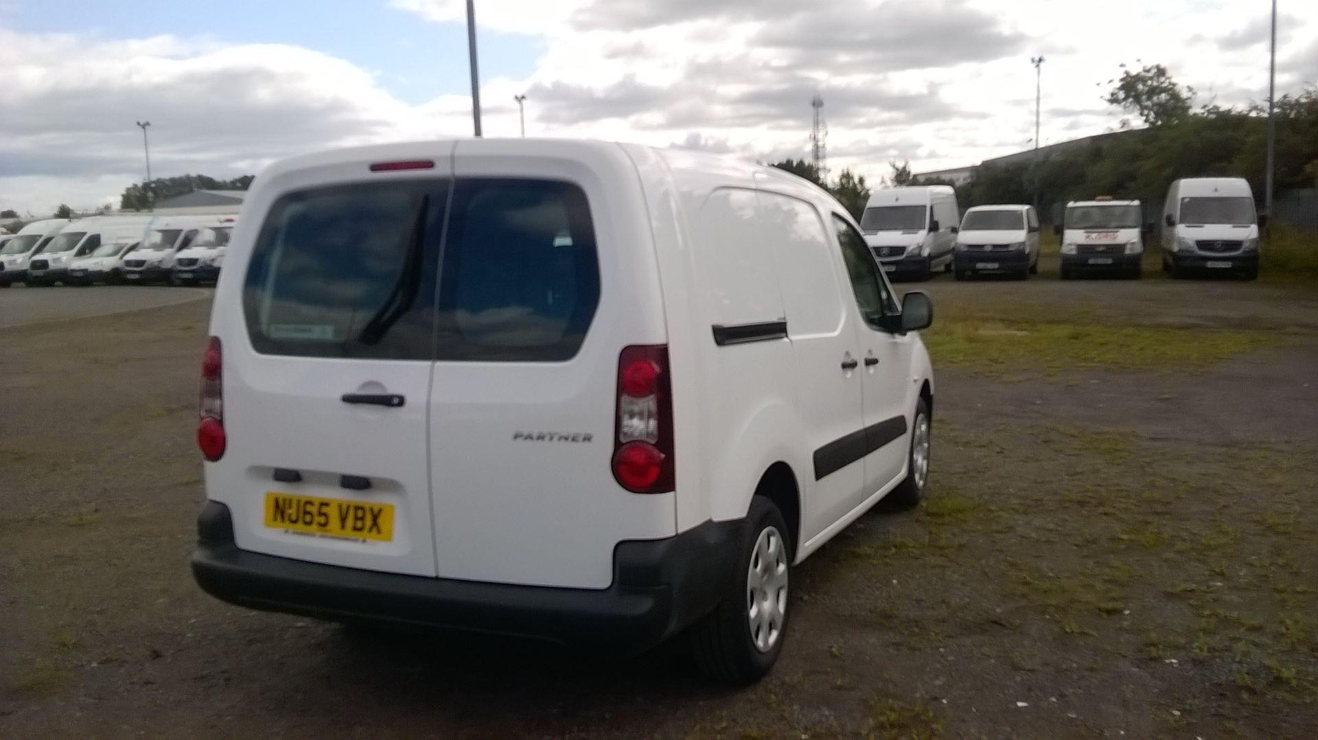 2015 Peugeot Partner 716 S 1.6 Hdi 92 Crew Van (NU65VBX) Image 4
