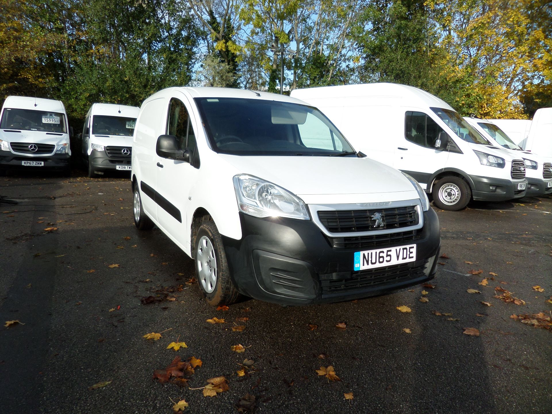2015 Peugeot Partner 850 S 1.6 Hdi 92 Van [Sld] Euro 5 (NU65VDE)