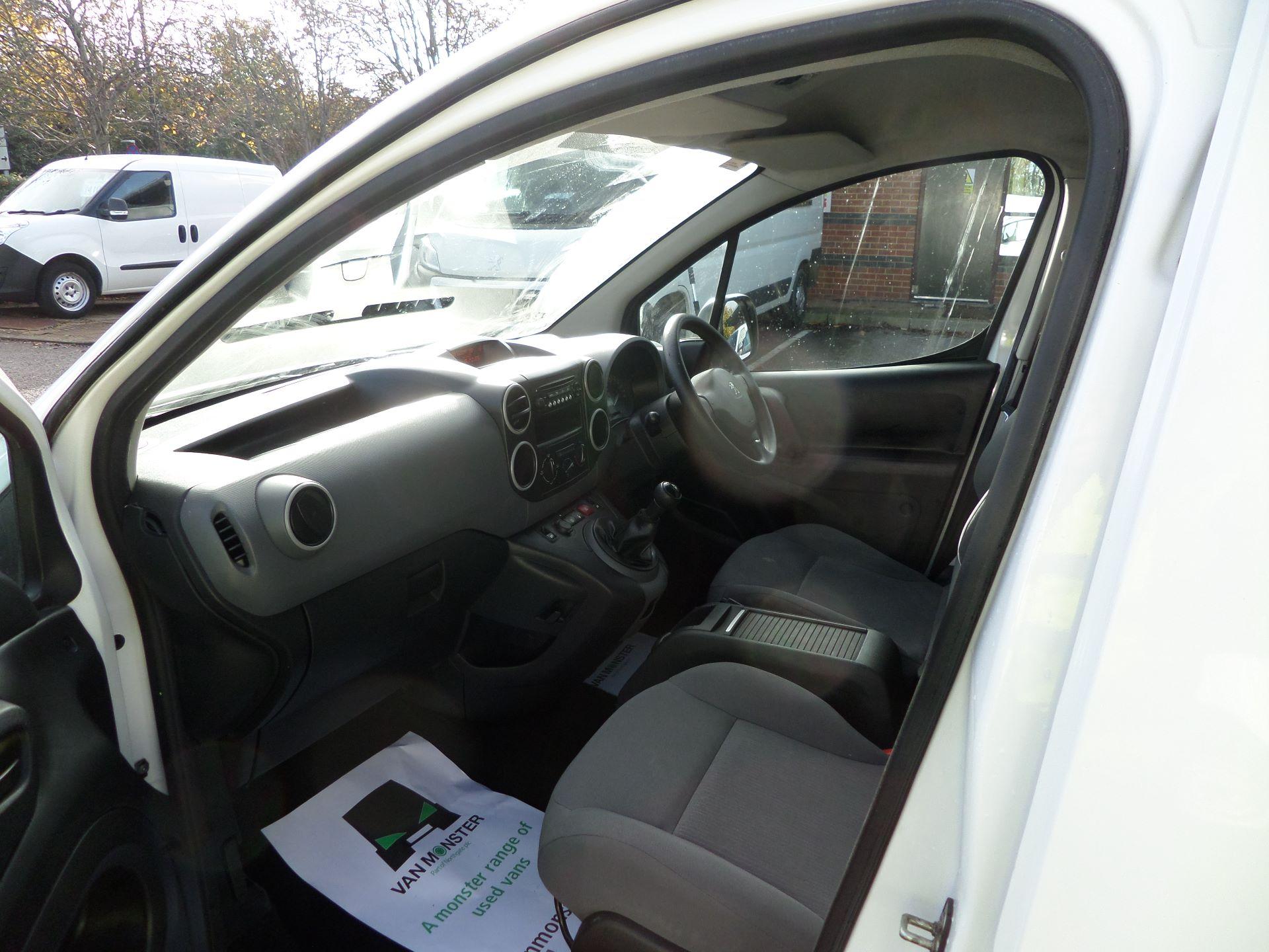 2015 Peugeot Partner 850 S 1.6 Hdi 92 Van [Sld] Euro 5 (NU65VDE) Image 11