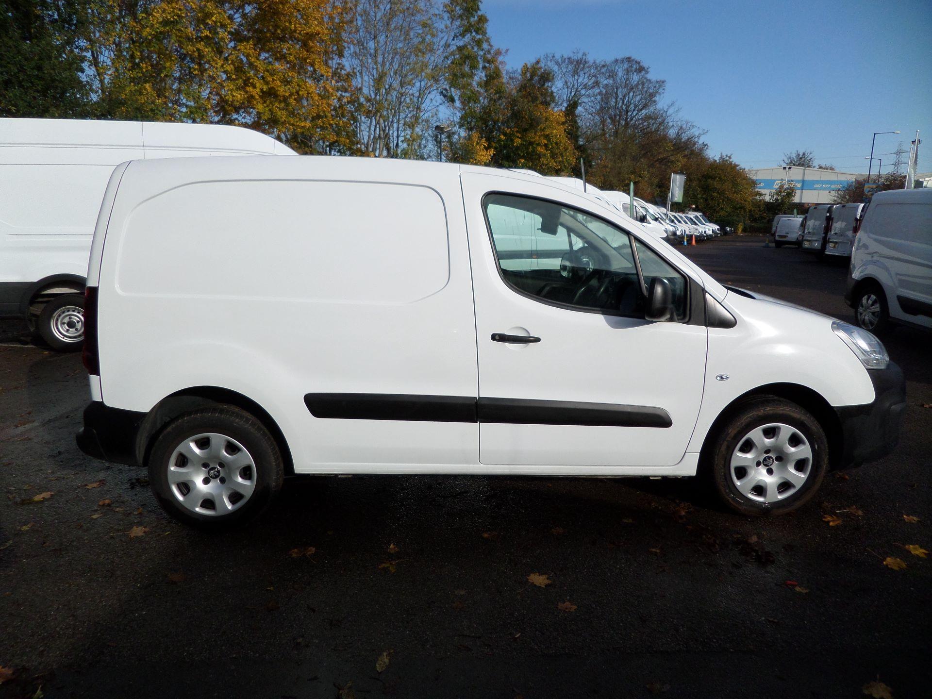 2015 Peugeot Partner 850 S 1.6 Hdi 92 Van [Sld] Euro 5 (NU65VDE) Image 7