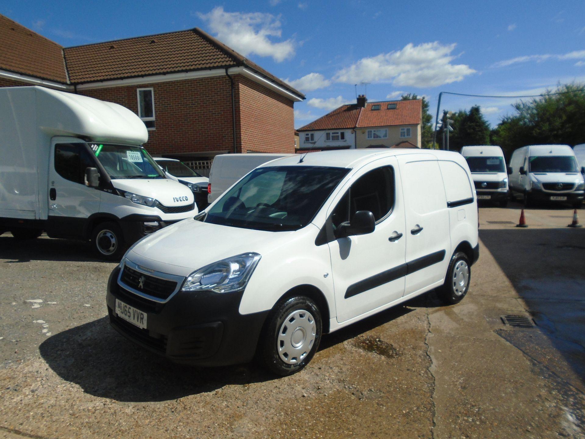 2015 Peugeot Partner 850 S 1.6 Hdi 92 Van [Sld](EURO 5) (NU65VVR) Image 3