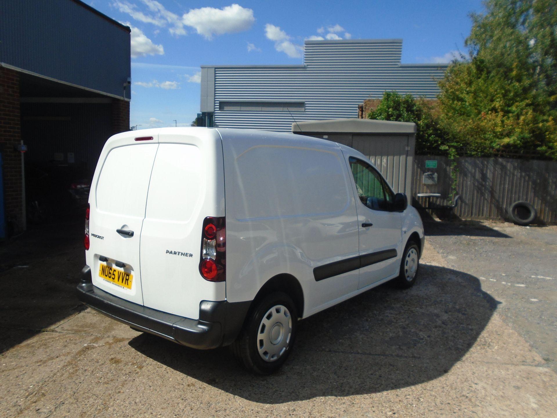 2015 Peugeot Partner 850 S 1.6 Hdi 92 Van [Sld](EURO 5) (NU65VVR) Image 5