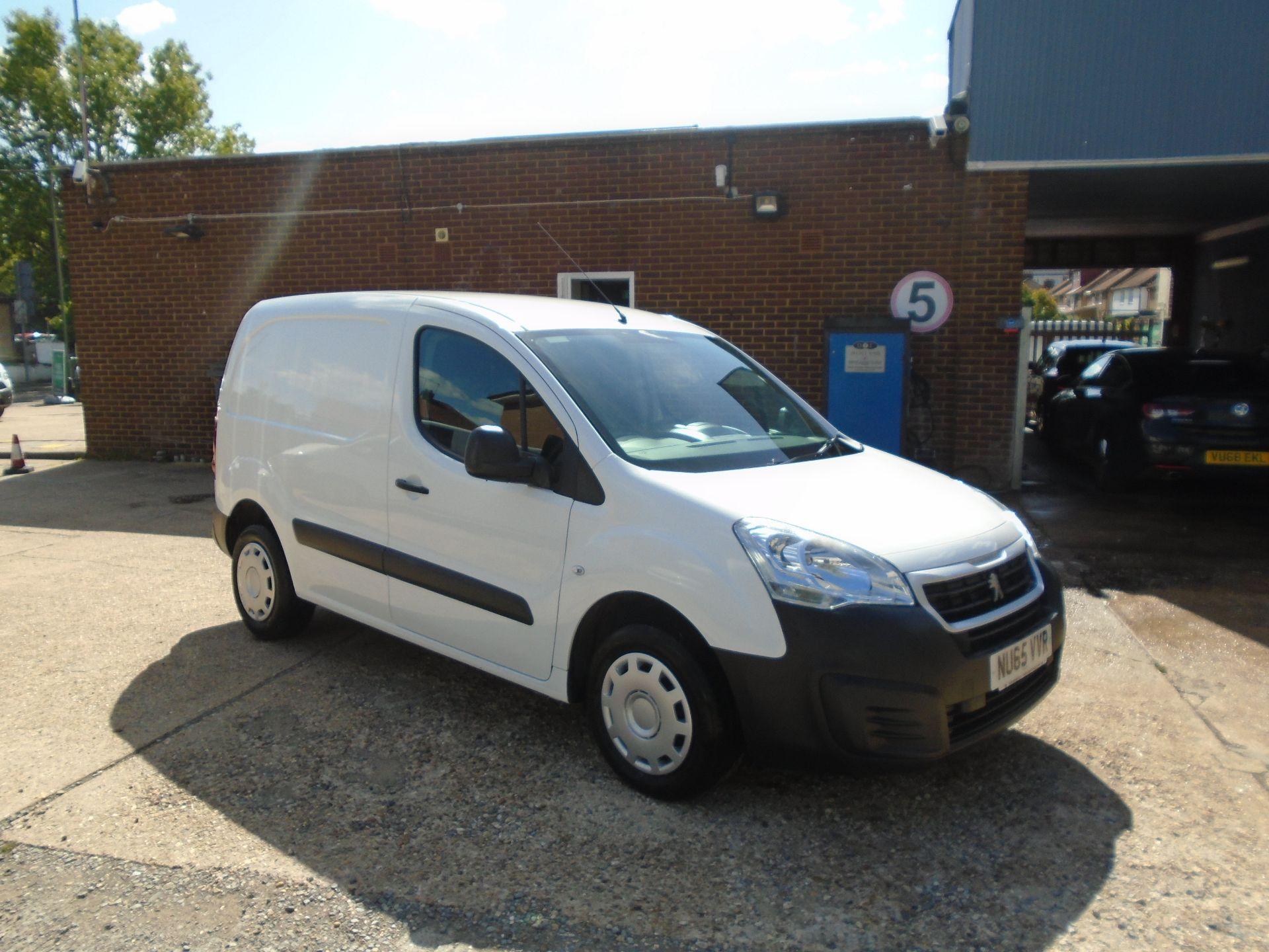 2015 Peugeot Partner 850 S 1.6 Hdi 92 Van [Sld](EURO 5) (NU65VVR)