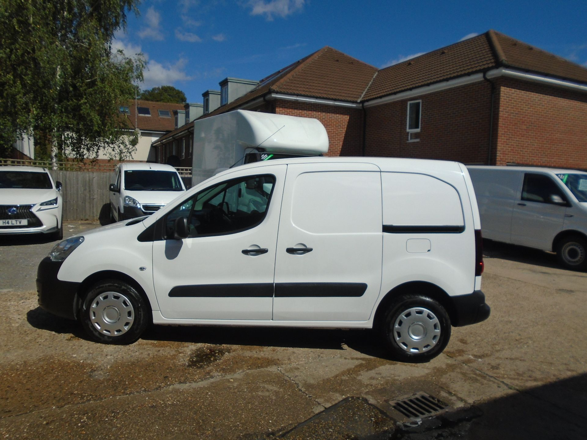 2015 Peugeot Partner 850 S 1.6 Hdi 92 Van [Sld](EURO 5) (NU65VVR) Image 10