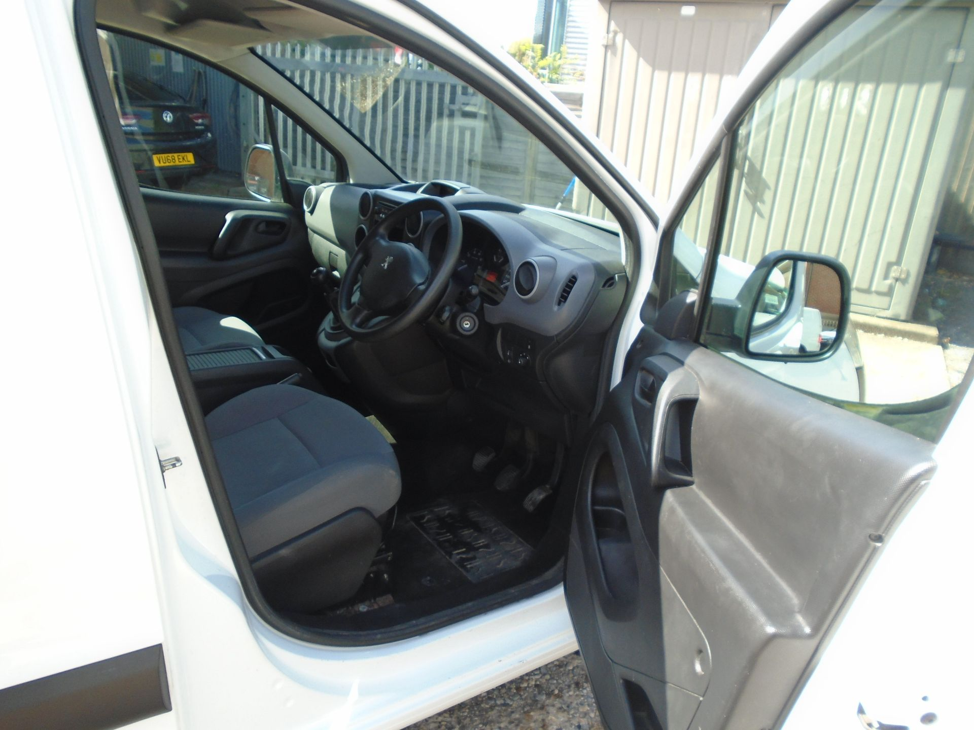 2015 Peugeot Partner 850 S 1.6 Hdi 92 Van [Sld](EURO 5) (NU65VVR) Image 15