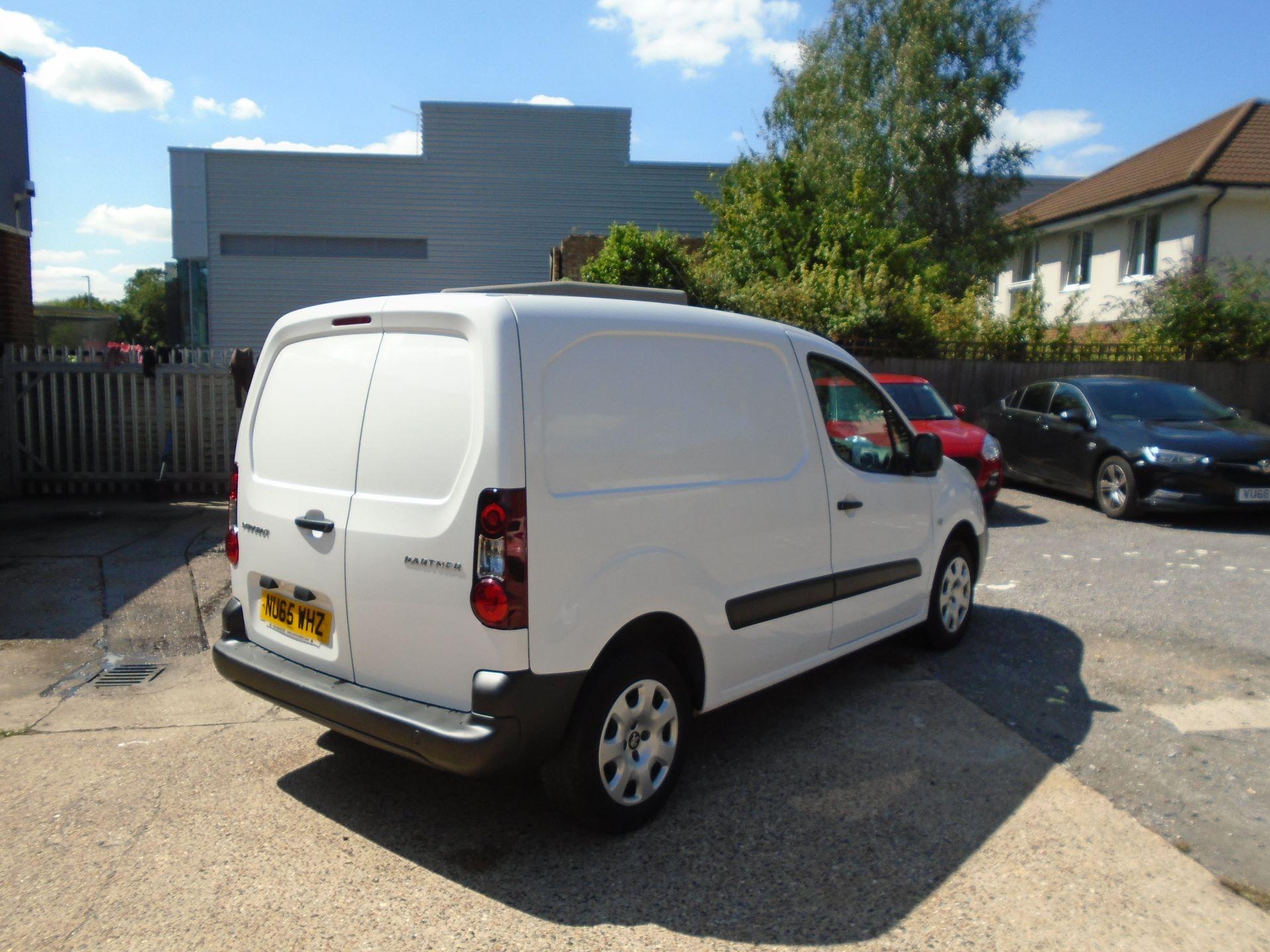 2015 Peugeot Partner 850 S 1.6 Hdi 92 Van (EURO 5) (NU65WHZ) Image 5
