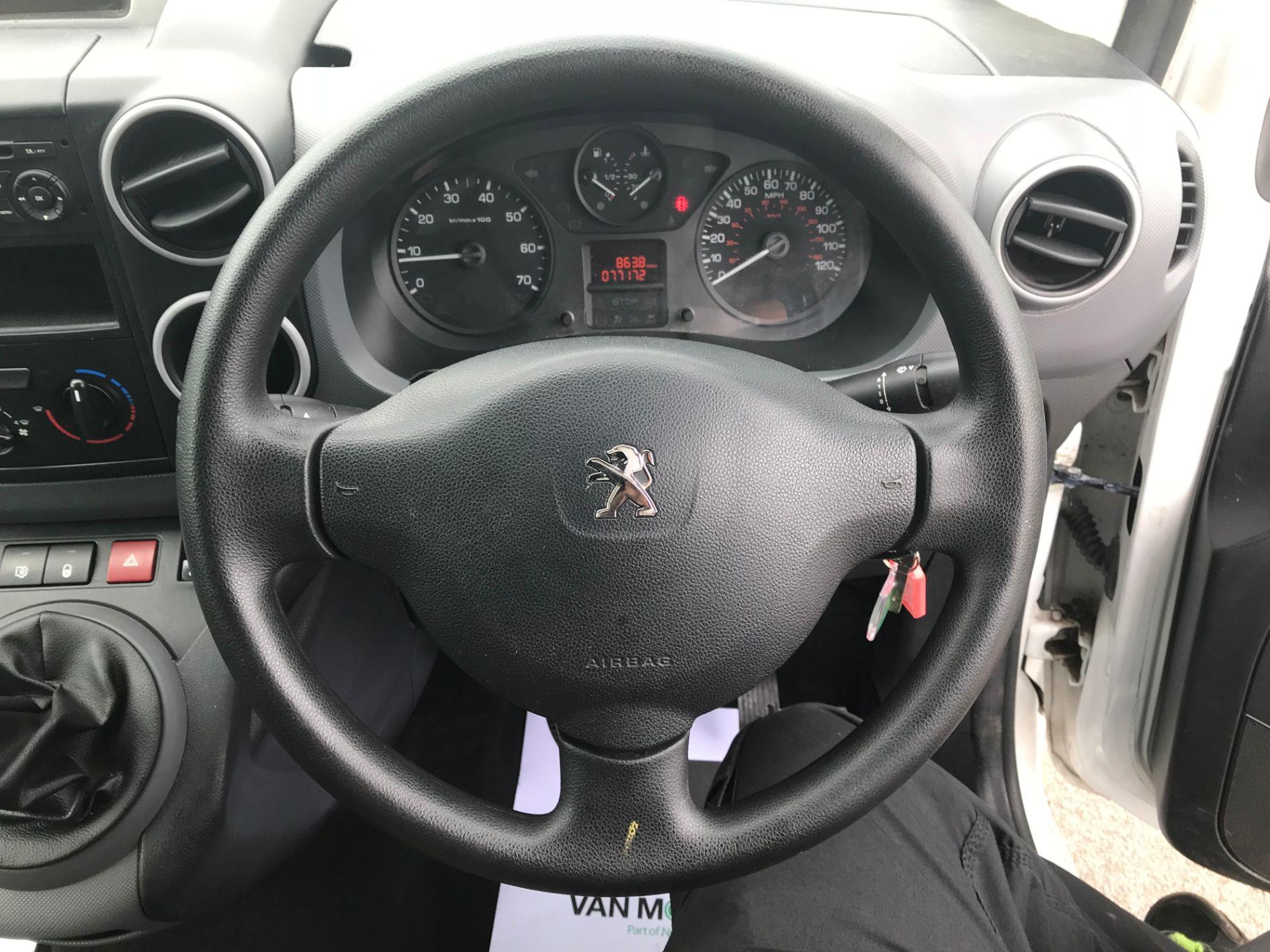 2015 Peugeot Partner L1 850 S 1.6 92PS (SLD) EURO 5 (NU65WJD) Image 15