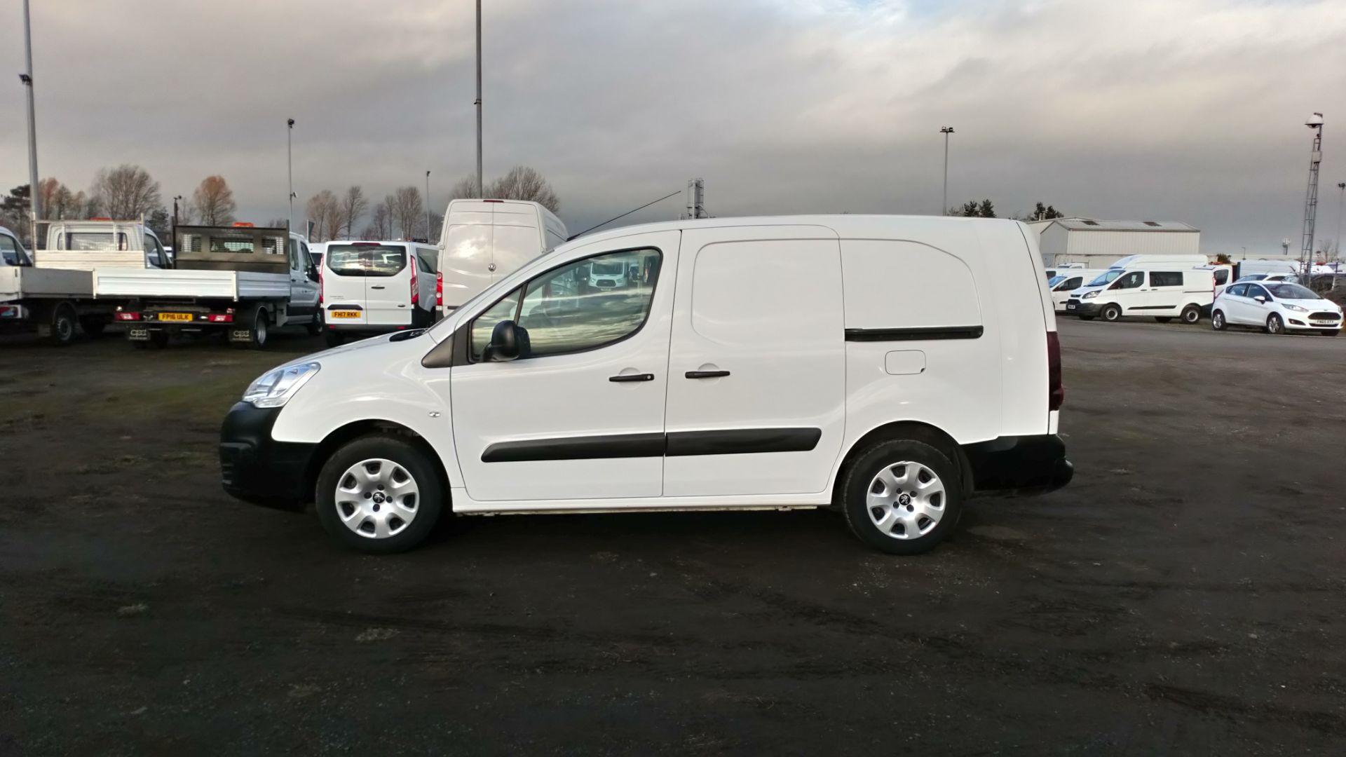 2015 Peugeot Partner 716 S 1.6 Hdi 92 Crew Van (NU65XAN) Image 4