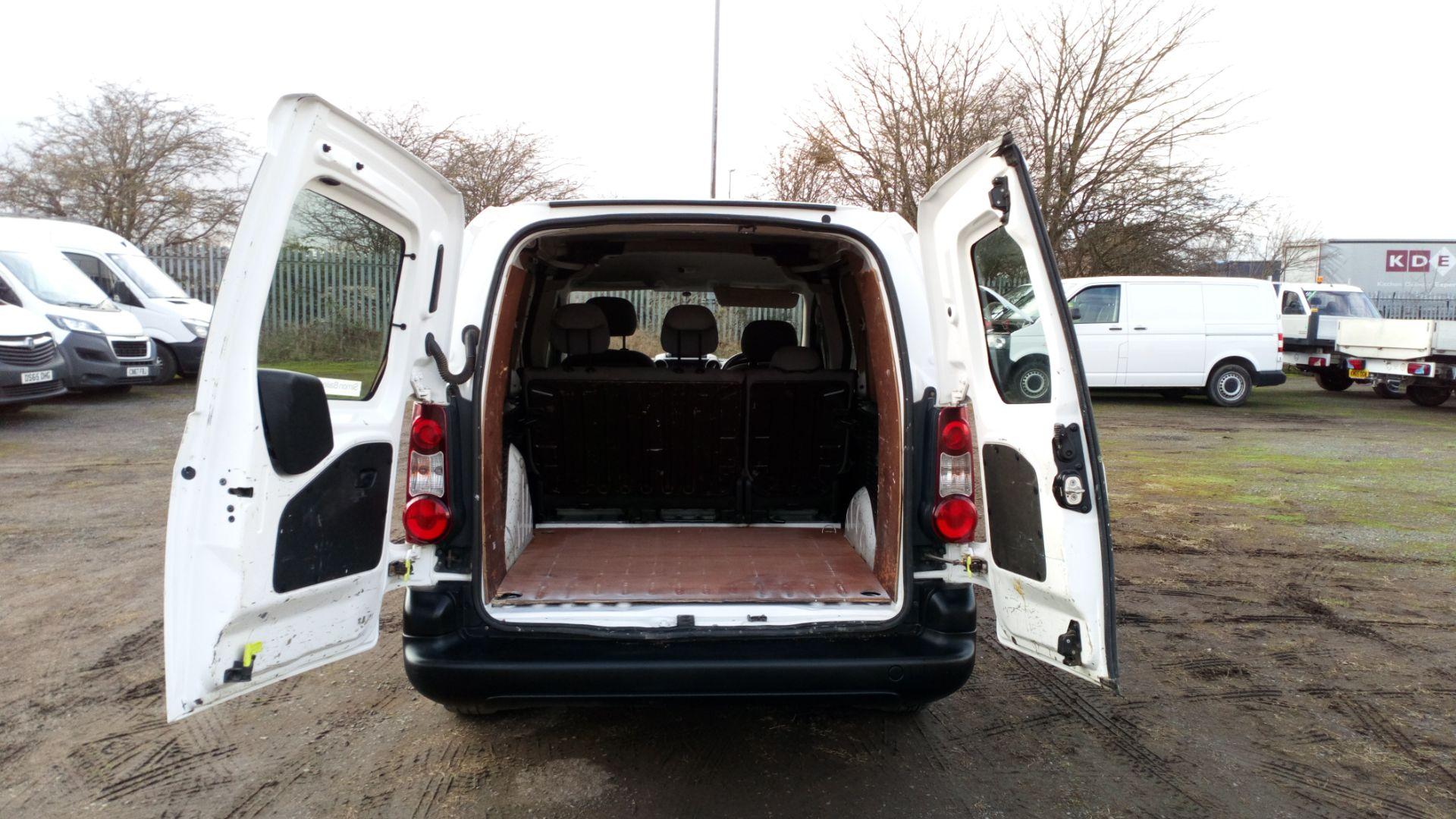 2015 Peugeot Partner 716 S 1.6 Hdi 92 Crew Van (NU65XAN) Image 16