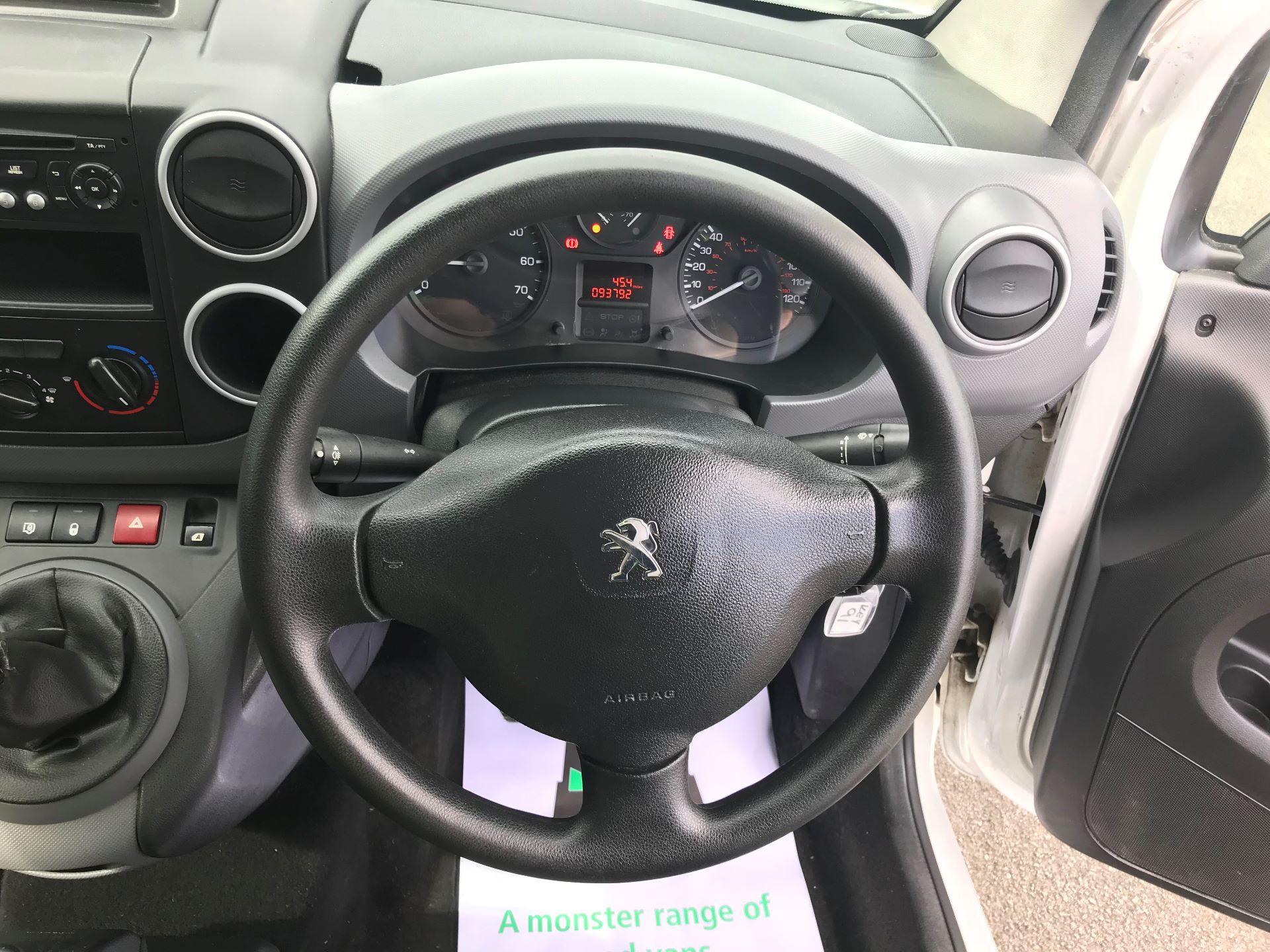 2015 Peugeot Partner L1 850 S 1.6 92PS (SLD) EURO 5 (NU65XYO) Image 21