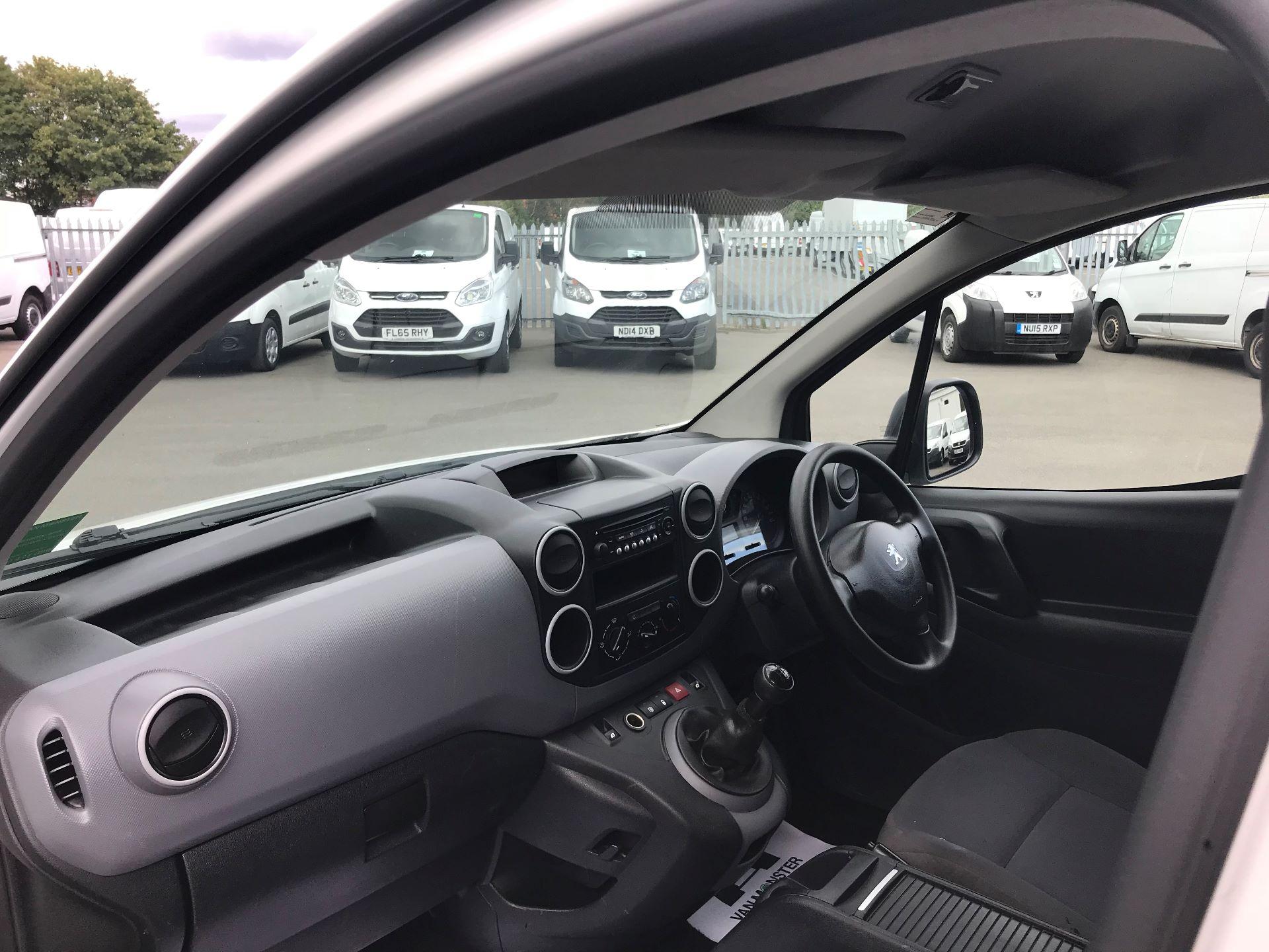 2015 Peugeot Partner L1 850 S 1.6 92PS (SLD) EURO 5 (NU65XYO) Image 17