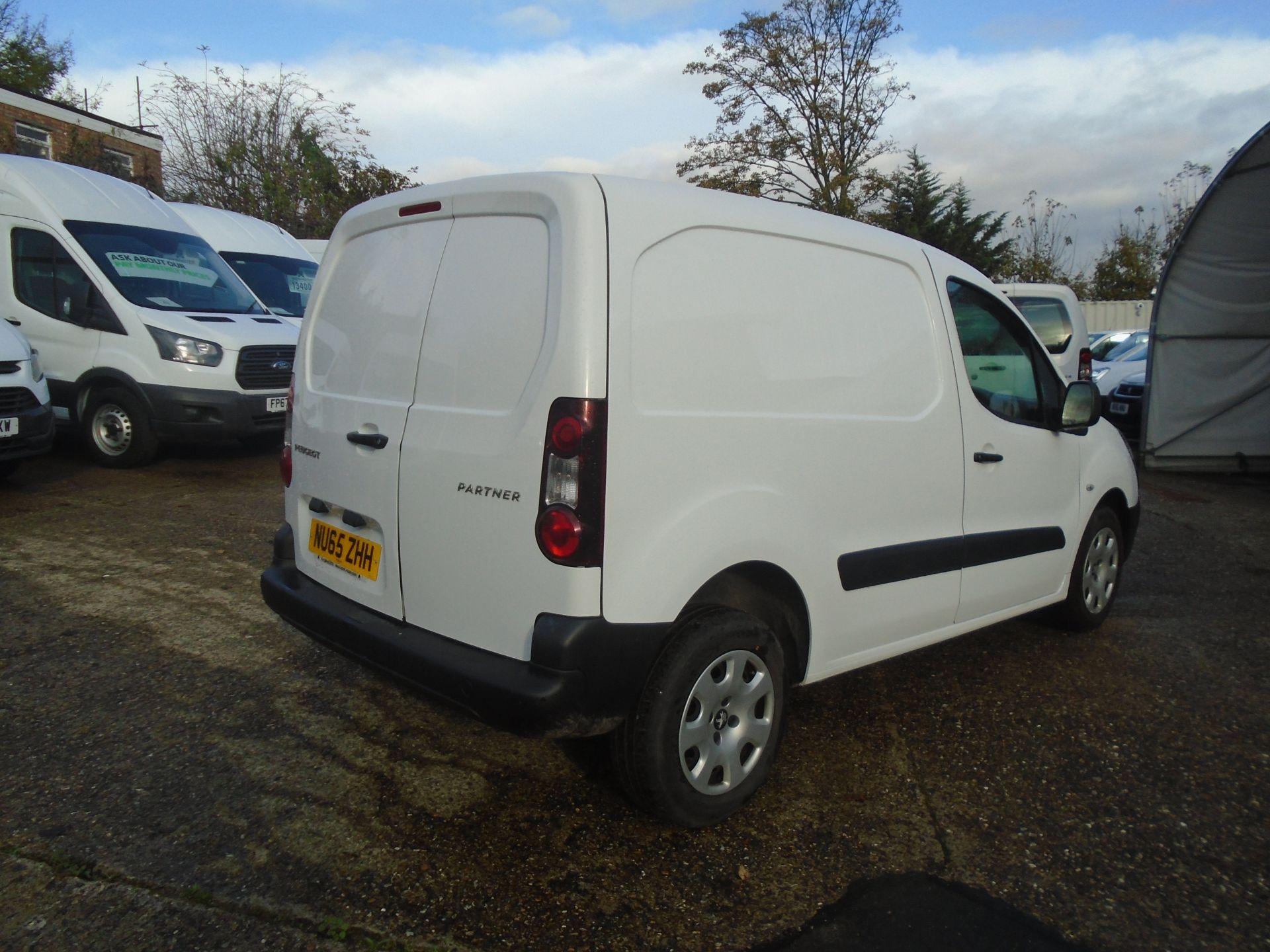 2015 Peugeot Partner 850 S 1.6 Hdi 92 Van [Sld] (NU65ZHH) Image 6