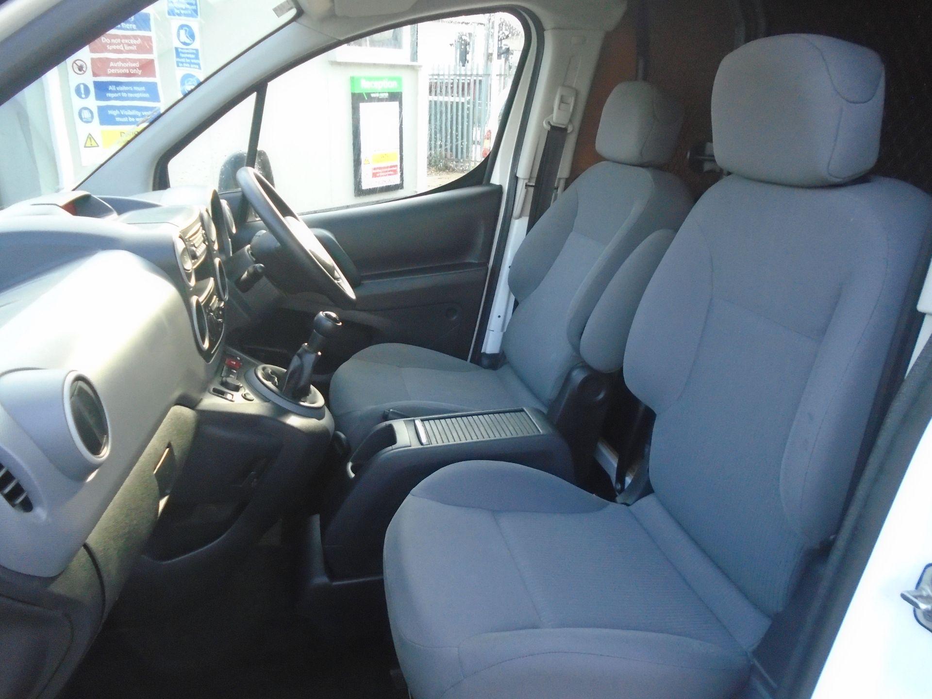 2015 Peugeot Partner 850 S 1.6 Hdi 92 Van [Sld] (NU65ZHH) Image 15
