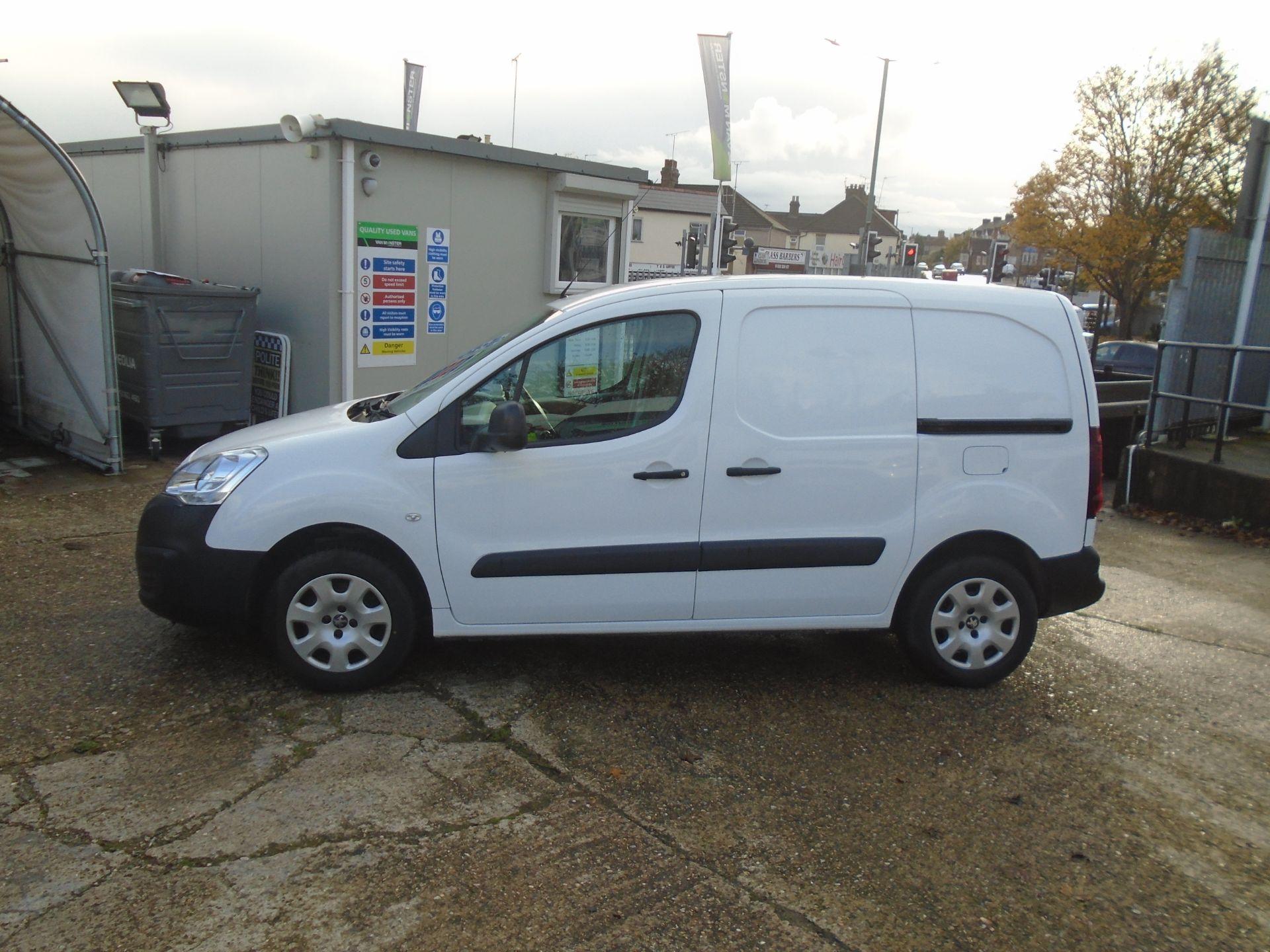 2015 Peugeot Partner 850 S 1.6 Hdi 92 Van [Sld] (NU65ZHH) Image 7