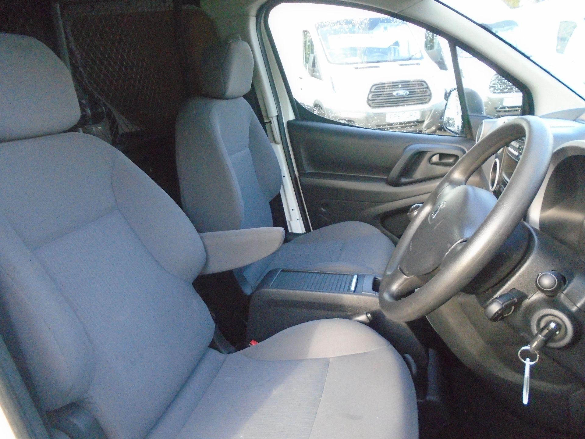 2015 Peugeot Partner 850 S 1.6 Hdi 92 Van [Sld] (NU65ZHH) Image 17