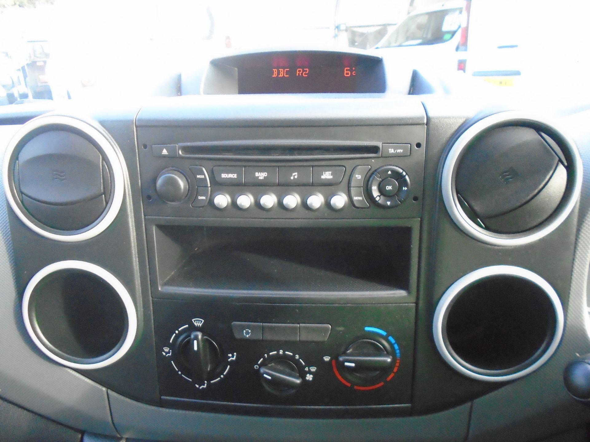 2015 Peugeot Partner 850 S 1.6 Hdi 92 Van [Sld] (NU65ZHH) Image 20