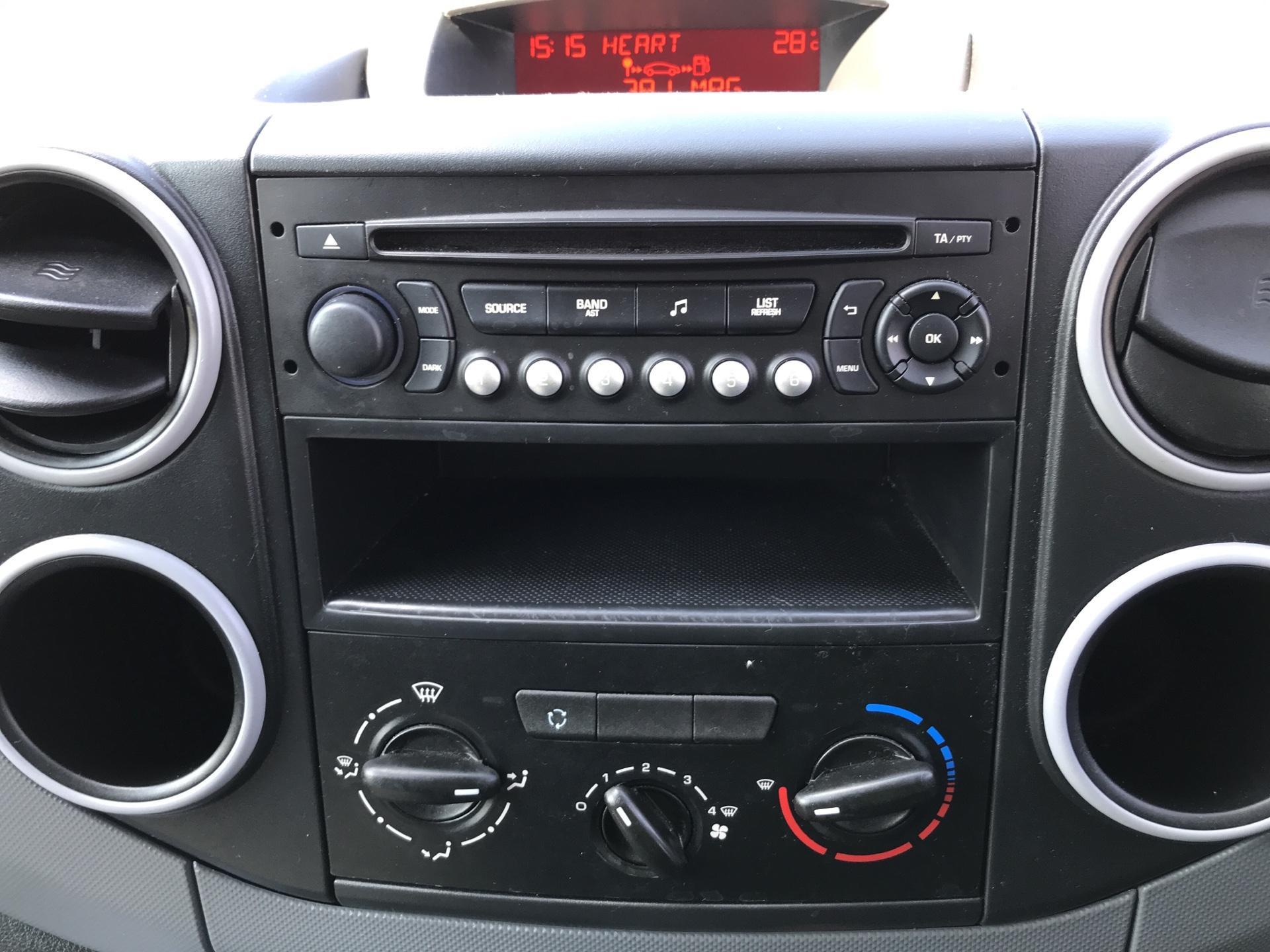 2015 Peugeot Partner L1 850 S 1.6HDI 92PS (SLD) EURO 5 (NU65ZJJ) Image 10