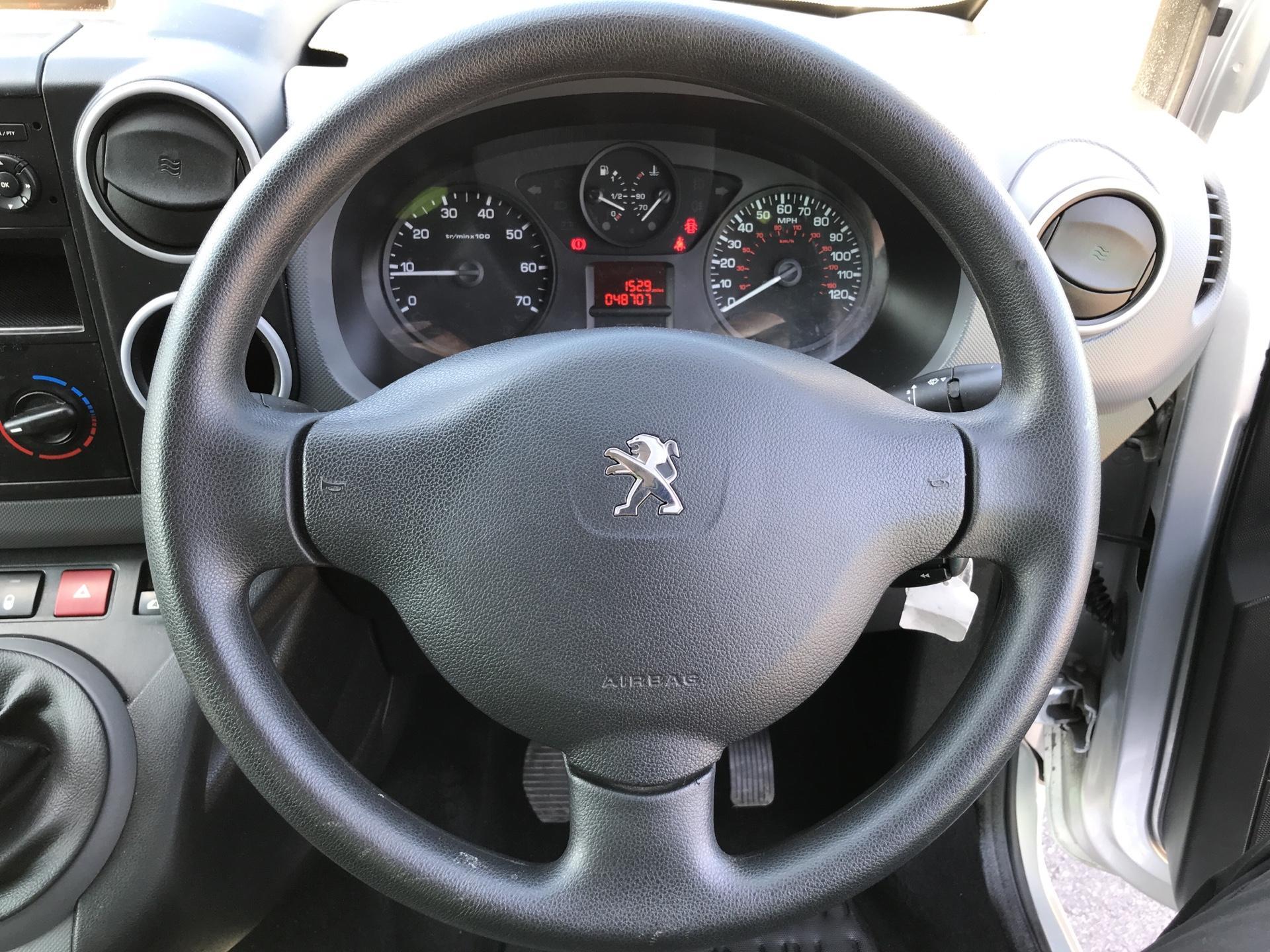 2015 Peugeot Partner L1 850 S 1.6HDI 92PS (SLD) EURO 5 (NU65ZJJ) Image 12