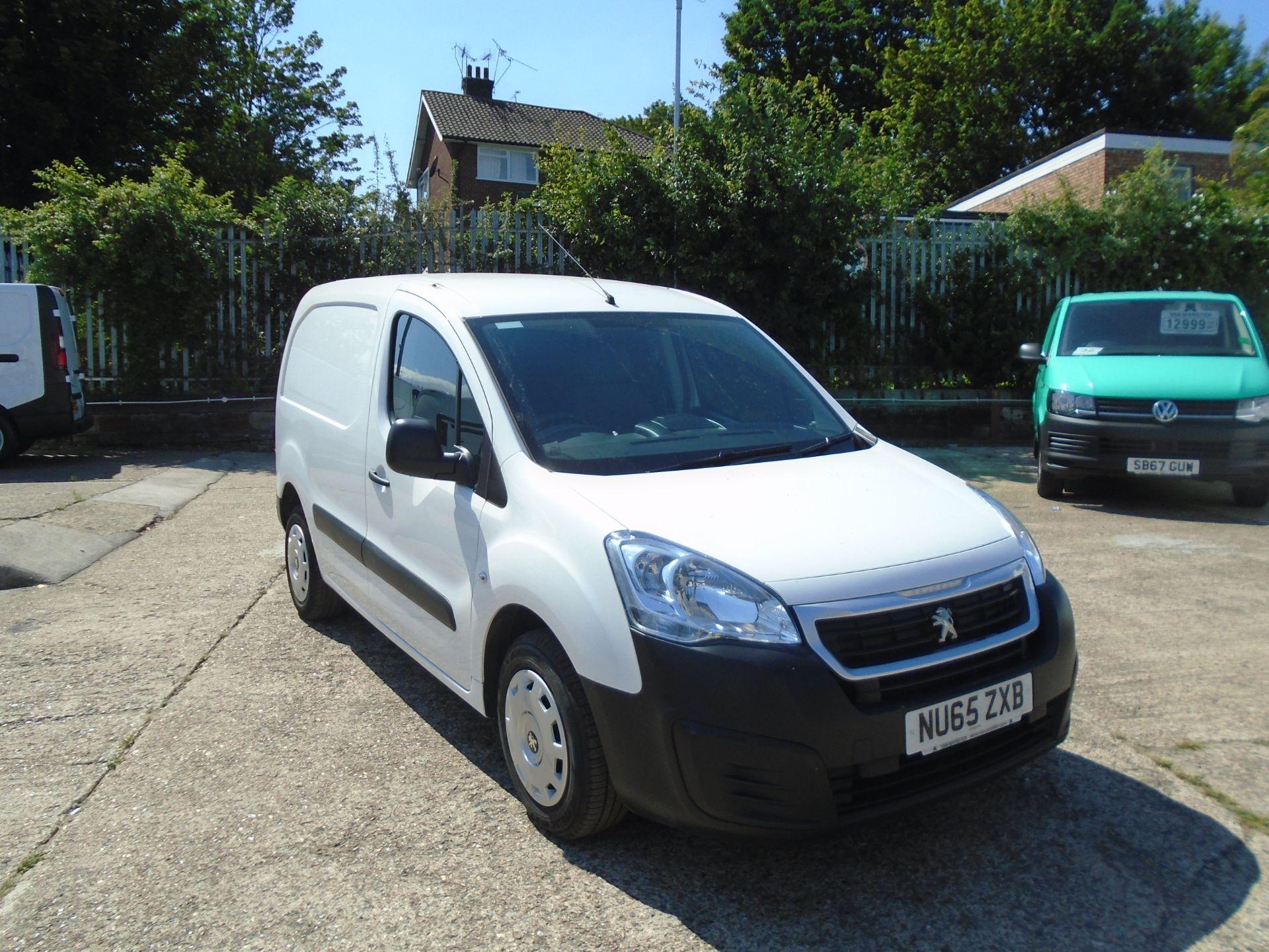 2015 Peugeot Partner 850 S 1.6 Hdi 92 Van [Sld] (NU65ZXB)