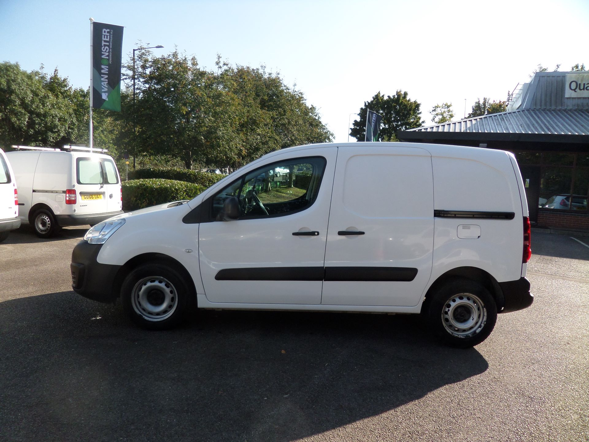 2016 Peugeot Partner 850 S 1.6 Hdi 92 Van [Sld] Euro 5 (NU66ANV) Image 6