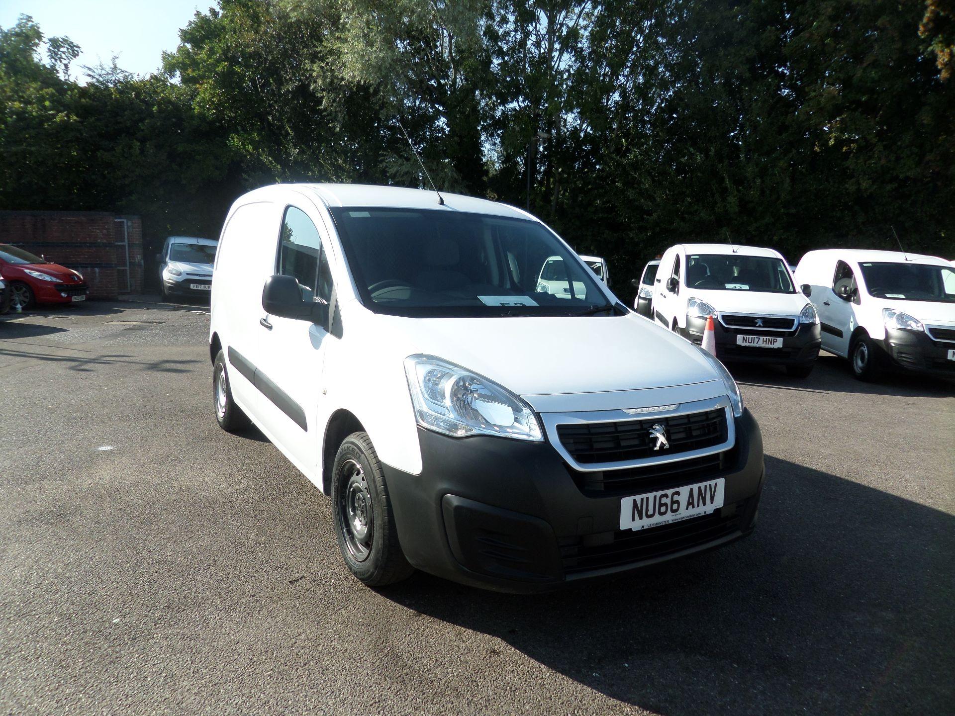 2016 Peugeot Partner 850 S 1.6 Hdi 92 Van [Sld] Euro 5 (NU66ANV)