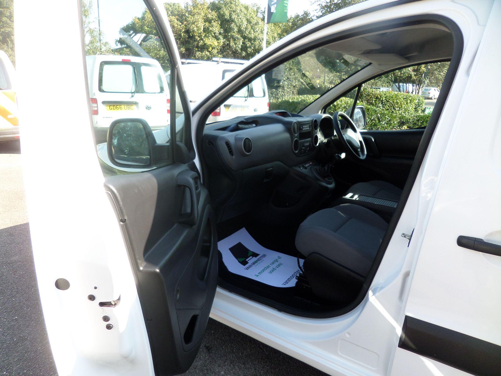 2016 Peugeot Partner 850 S 1.6 Hdi 92 Van [Sld] Euro 5 (NU66ANV) Image 8