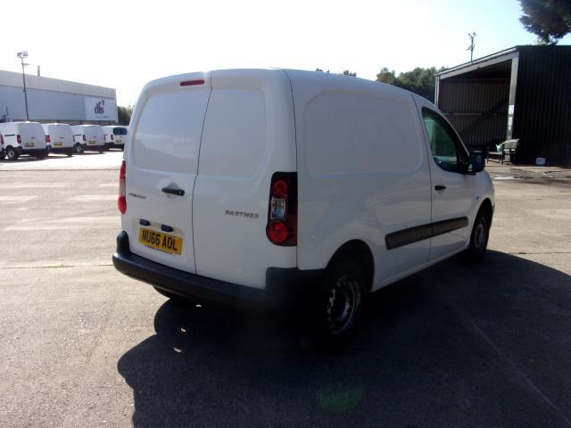 2016 Peugeot Partner 850 S 1.6 Hdi 92 Van [Sld] (NU66AOL) Image 9