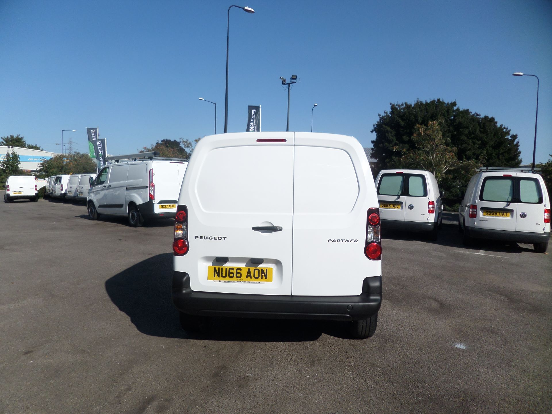2016 Peugeot Partner 850 S 1.6 Hdi 92 Van [Sld] Euro 5 (NU66AON) Image 3