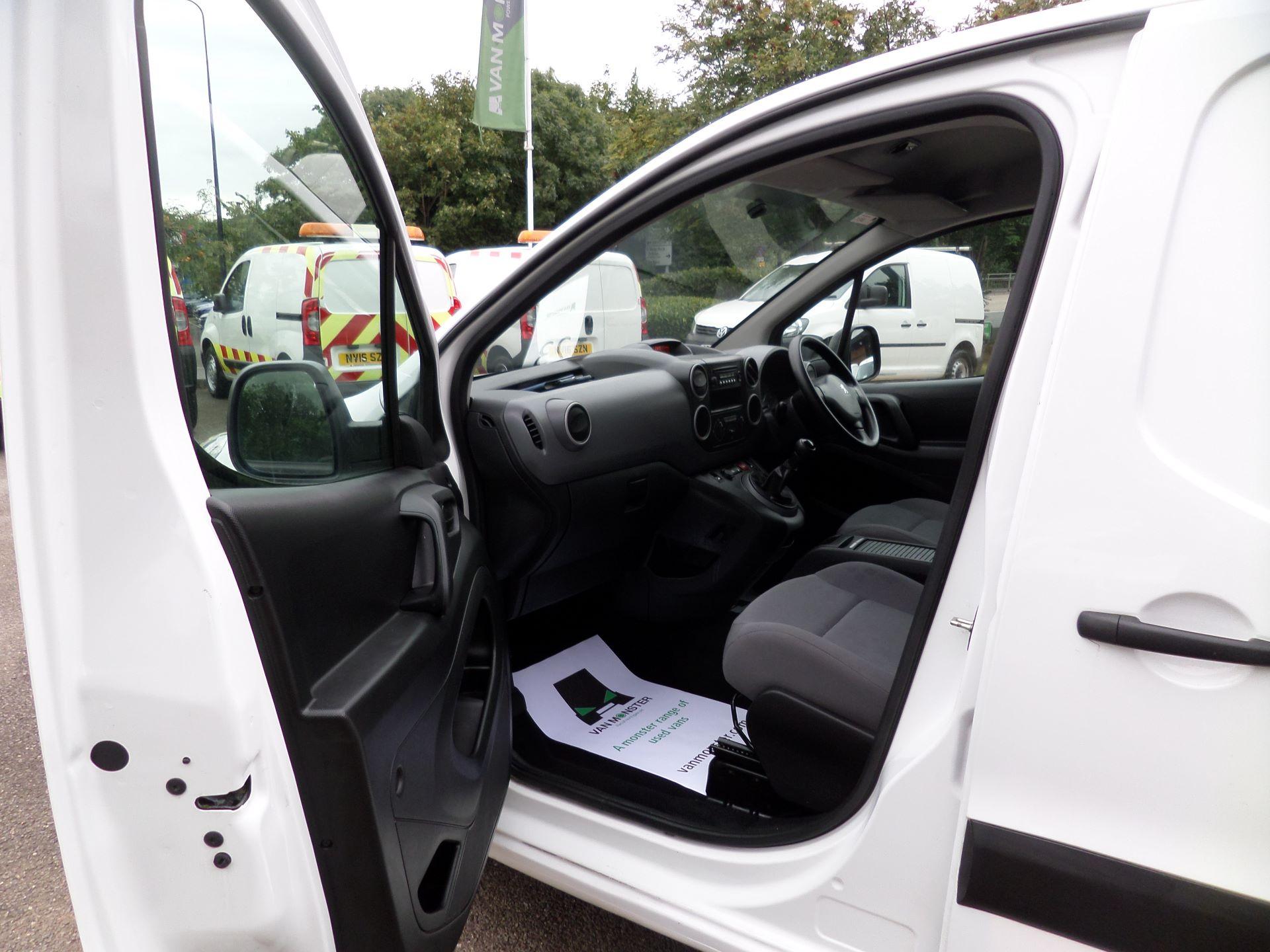 2016 Peugeot Partner 850 S 1.6 Hdi 92 Van [Sld] Euro 5 (NU66AOT) Image 7