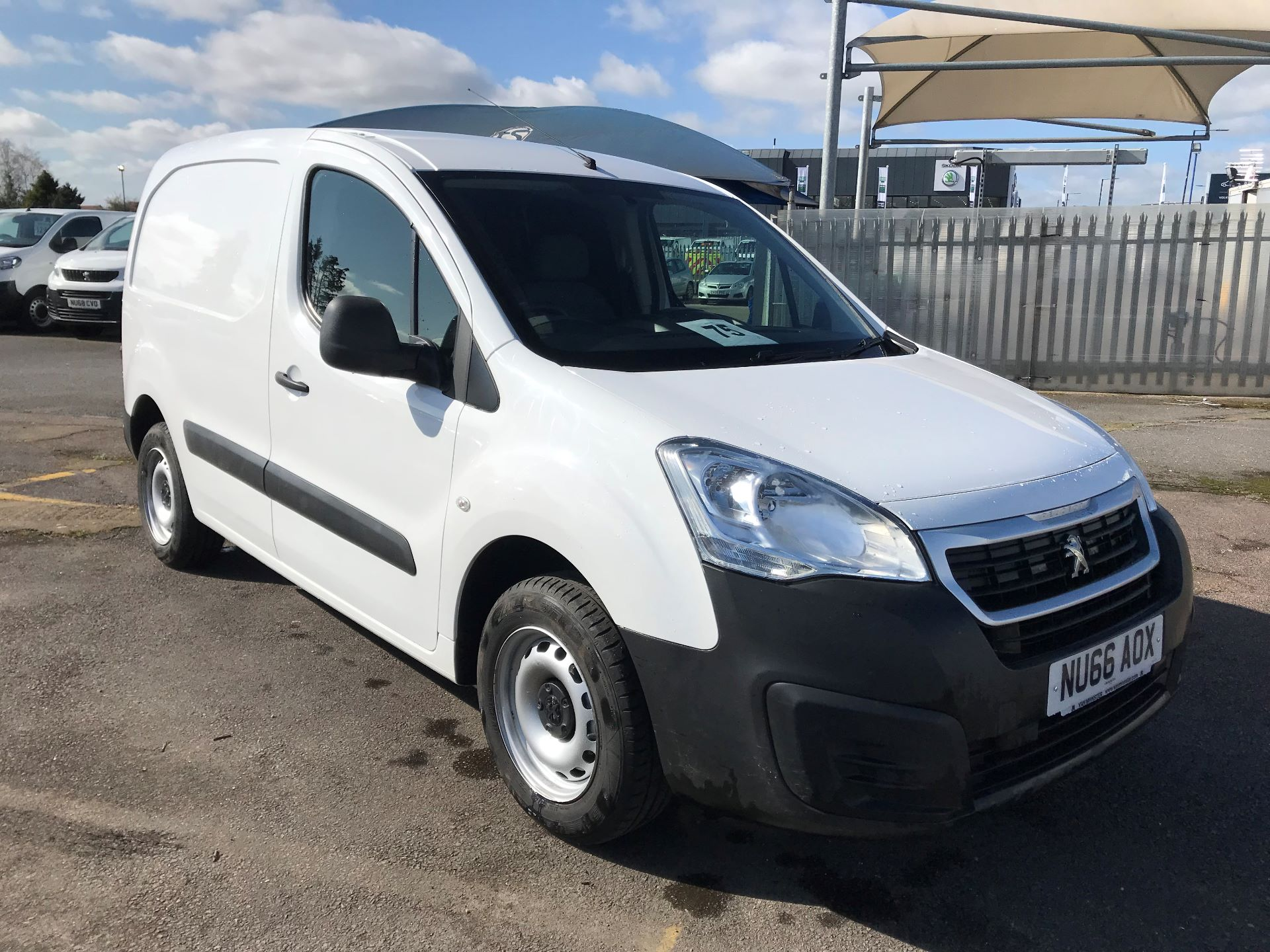 2016 Peugeot Partner  L1 850 S 1.6 92PS [SLD] EURO 5 (NU66AOX)