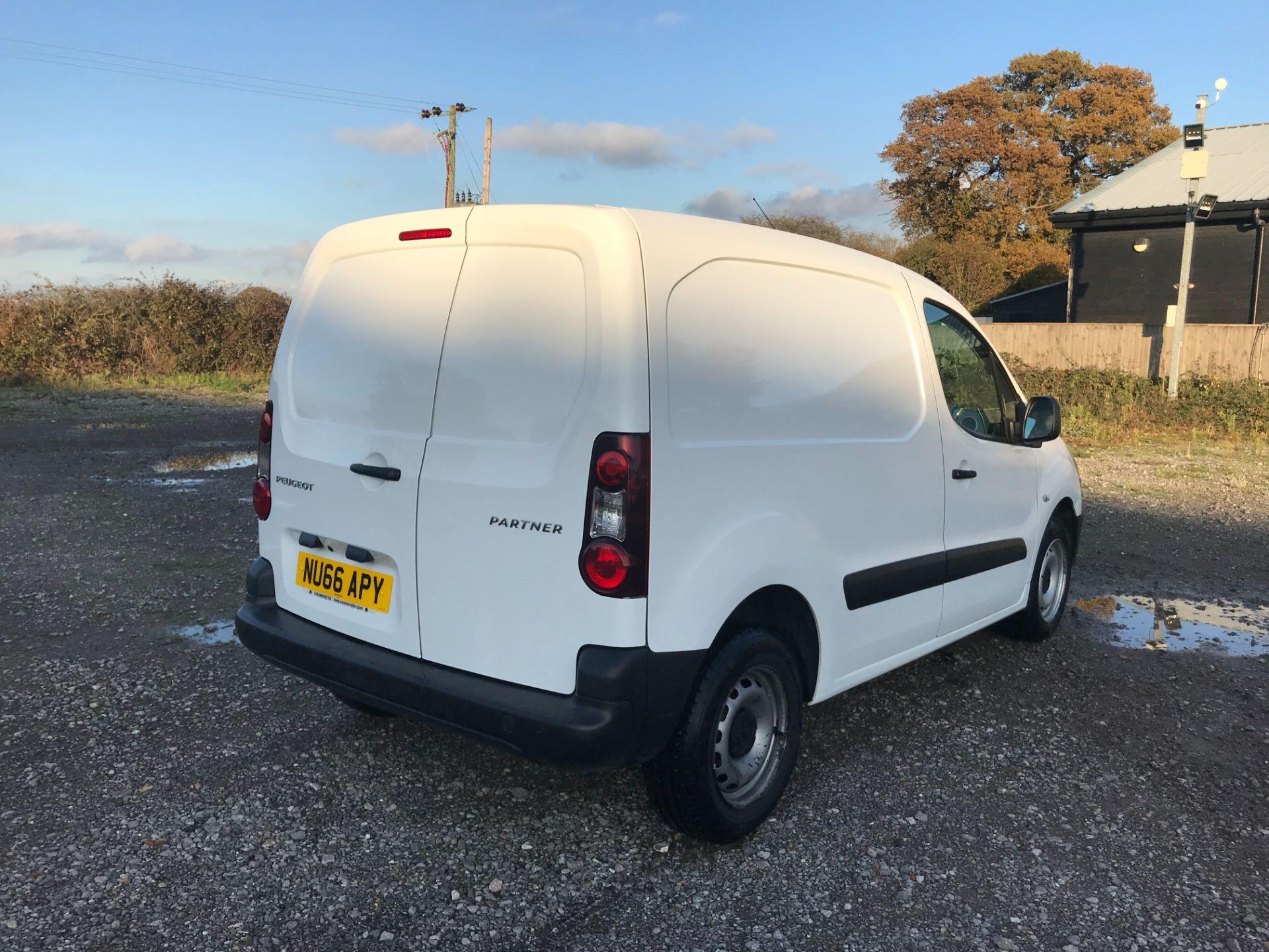 2016 Peugeot Partner 850 S 1.6 Hdi 92 Van [Sld] (NU66APY) Image 4