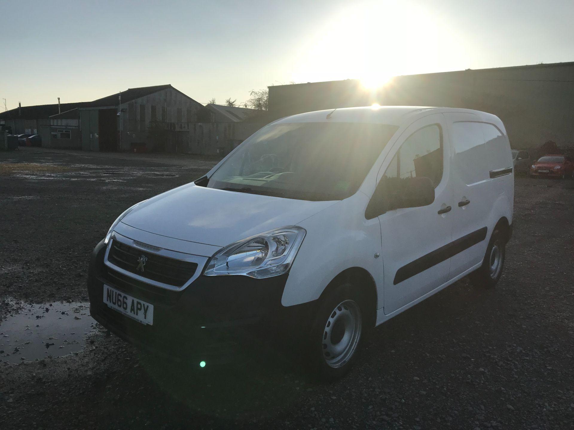 2016 Peugeot Partner 850 S 1.6 Hdi 92 Van [Sld] (NU66APY) Image 3