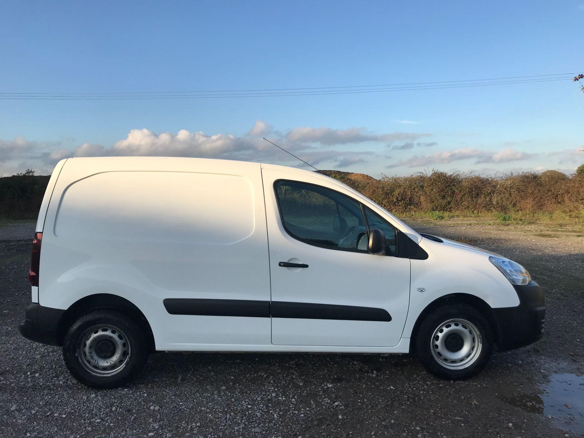 2016 Peugeot Partner 850 S 1.6 Hdi 92 Van [Sld] (NU66APY) Image 7