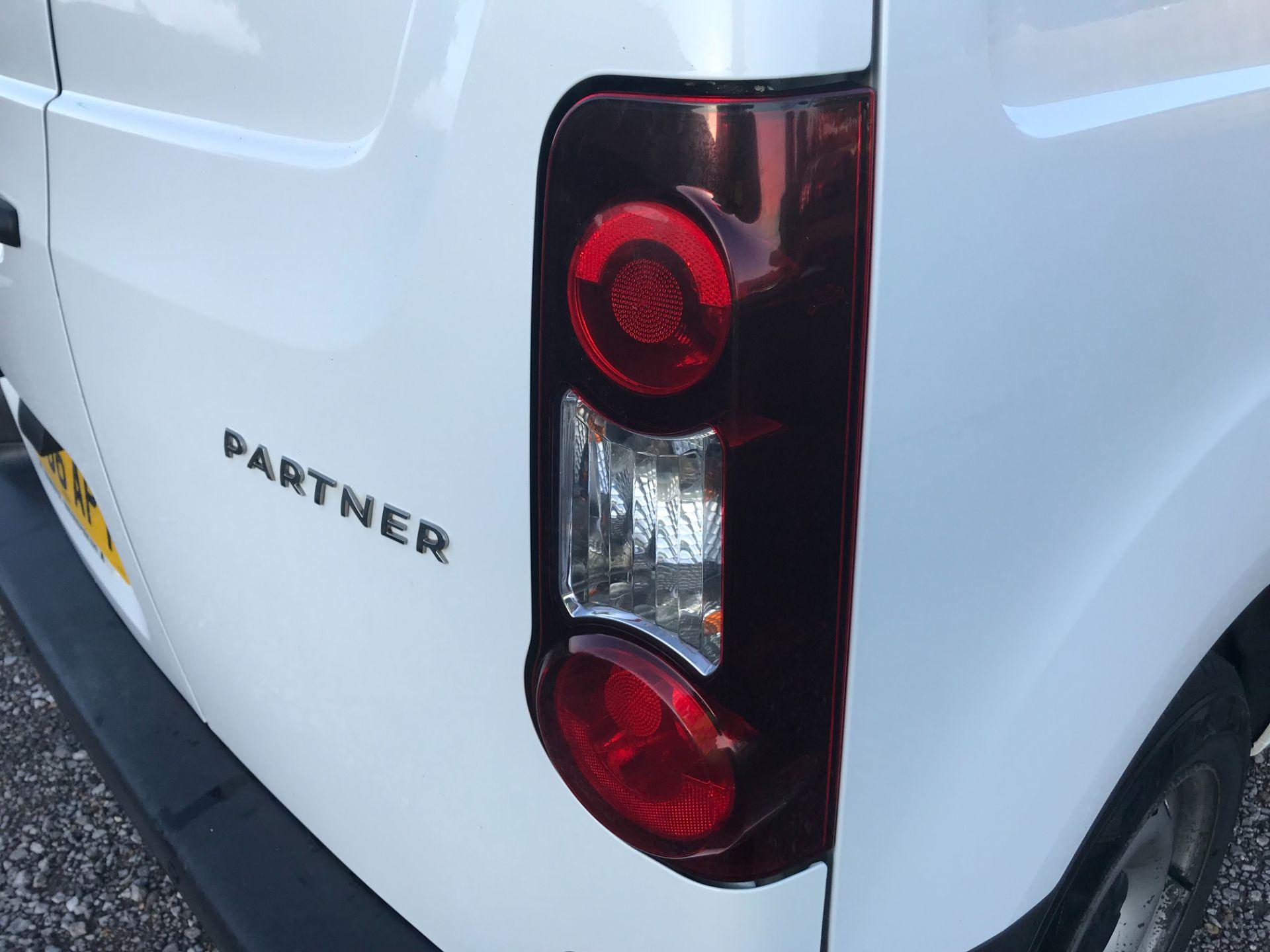 2016 Peugeot Partner 850 S 1.6 Hdi 92 Van [Sld] (NU66APY) Image 40