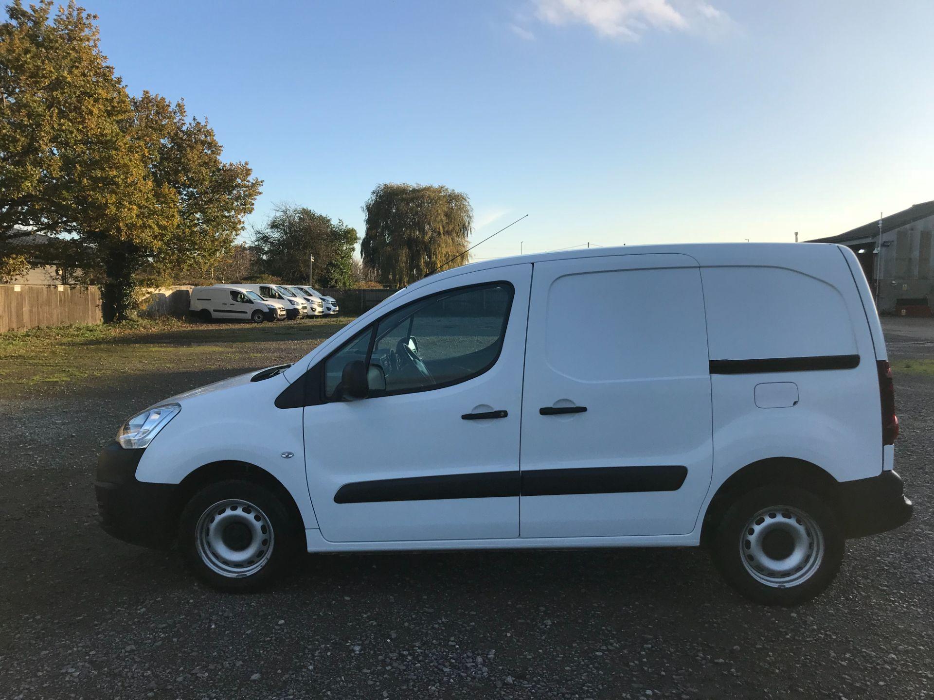 2016 Peugeot Partner 850 S 1.6 Hdi 92 Van [Sld] (NU66APY) Image 8