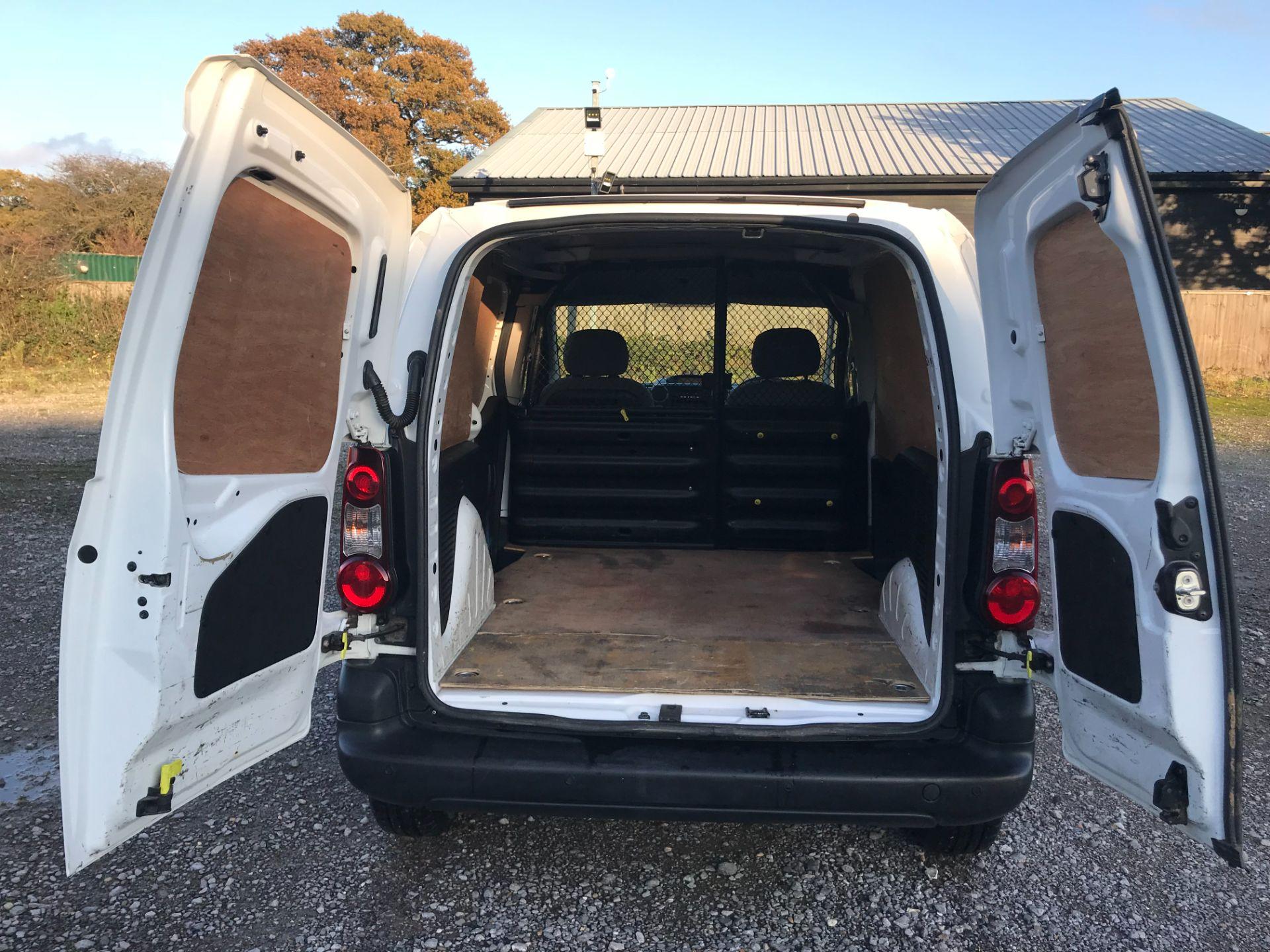 2016 Peugeot Partner 850 S 1.6 Hdi 92 Van [Sld] (NU66APY) Image 11