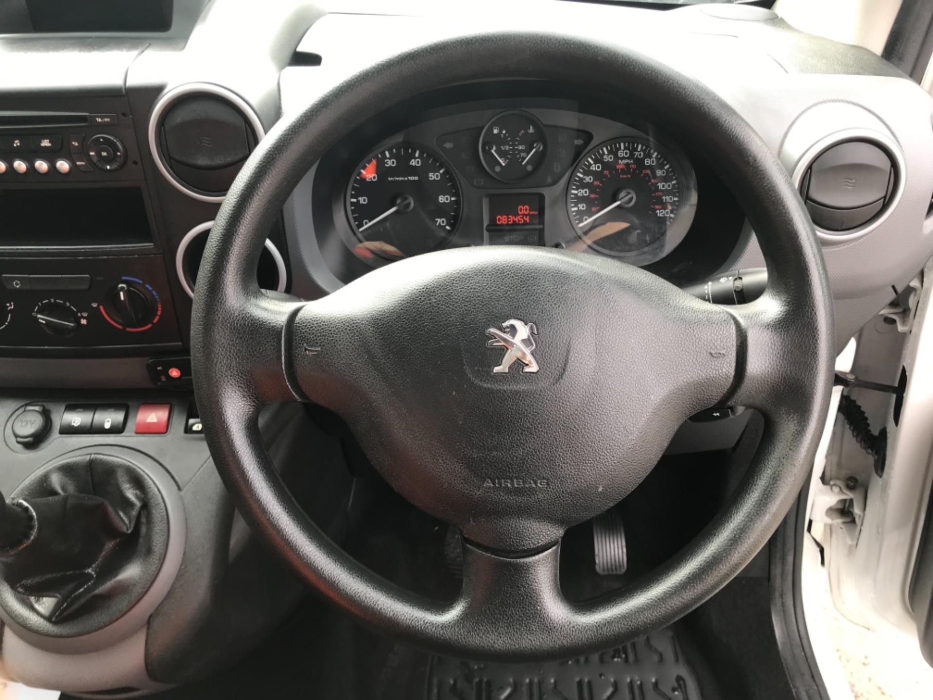 2016 Peugeot Partner 850 S 1.6 Hdi 92 Van [Sld] EURO 5 (NU66AVB) Image 12