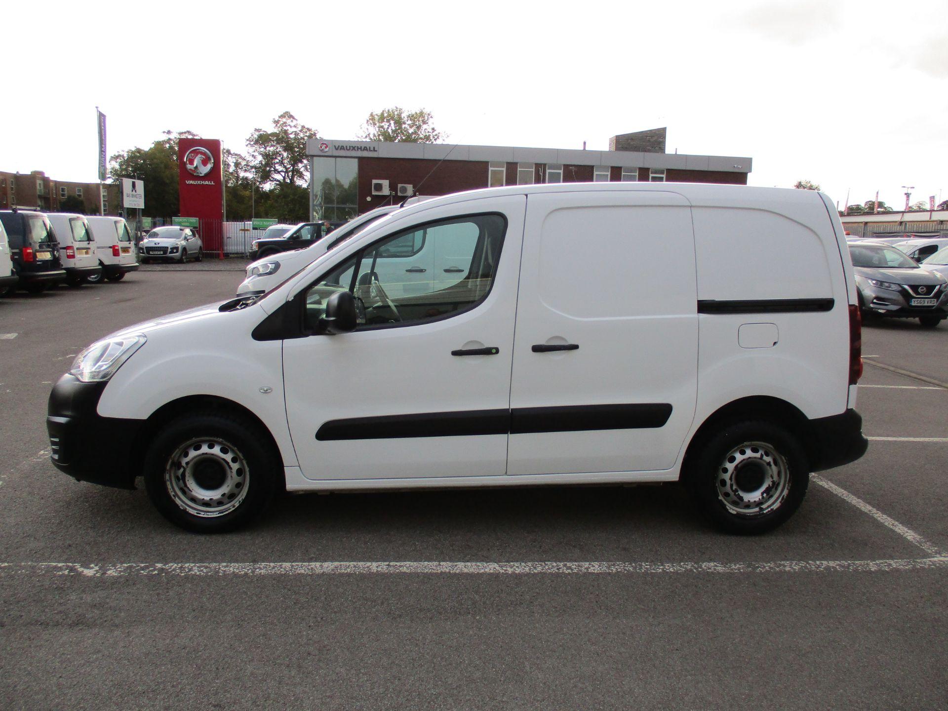 2016 Peugeot Partner 850 S 1.6 Hdi 92 Van [Sld] (NU66AVG) Image 7