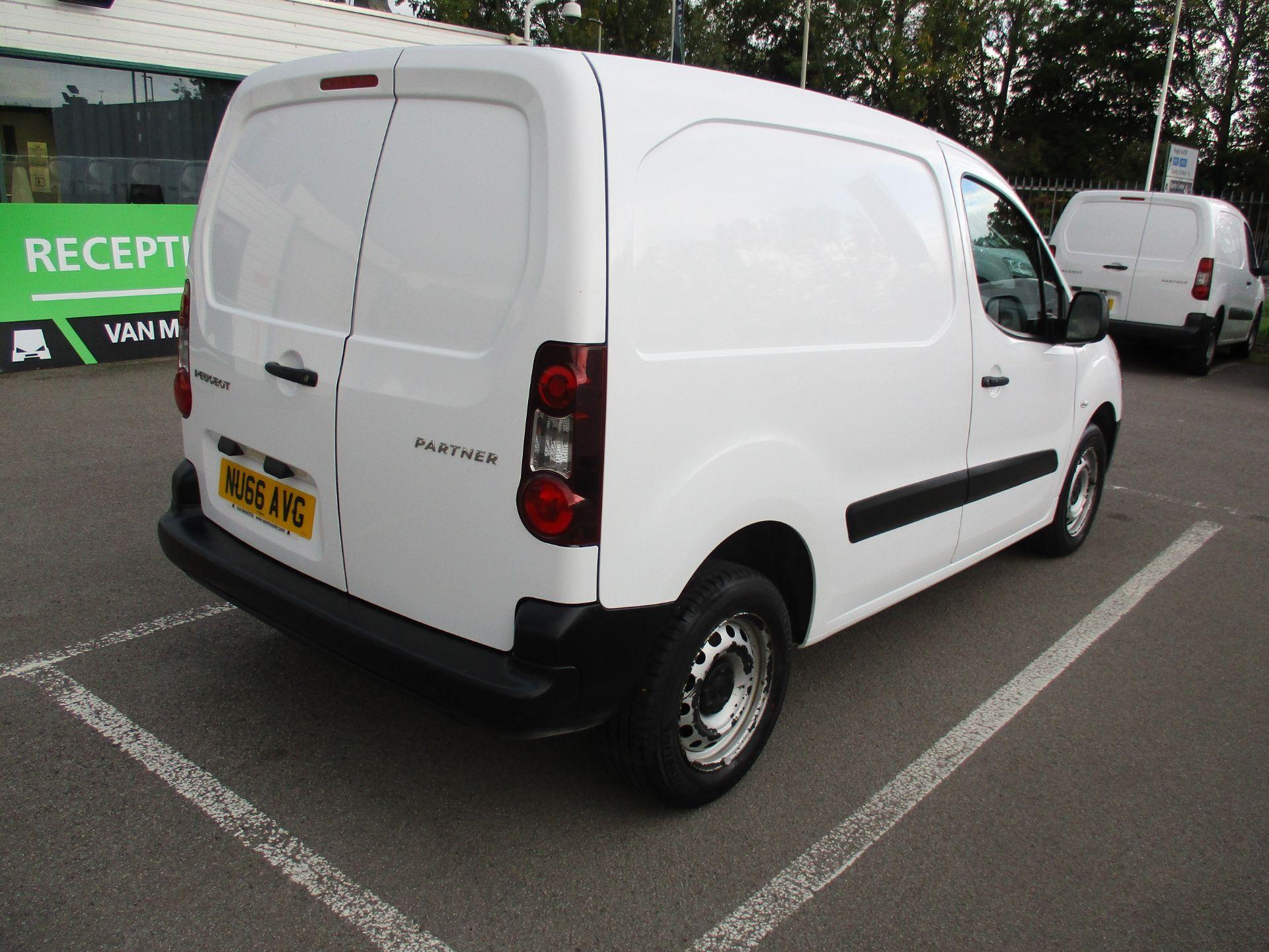 2016 Peugeot Partner 850 S 1.6 Hdi 92 Van [Sld] (NU66AVG) Image 3