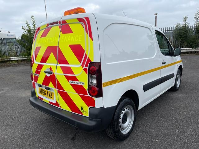 2016 Peugeot Partner 850 S 1.6 Hdi 92 Van [Sld] (NU66AVZ) Image 9