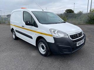 2016 Peugeot Partner 850 S 1.6 Hdi 92 Van [Sld] (NU66AVZ)
