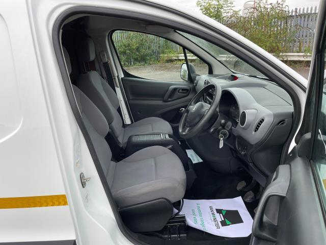 2016 Peugeot Partner 850 S 1.6 Hdi 92 Van [Sld] (NU66AVZ) Image 13