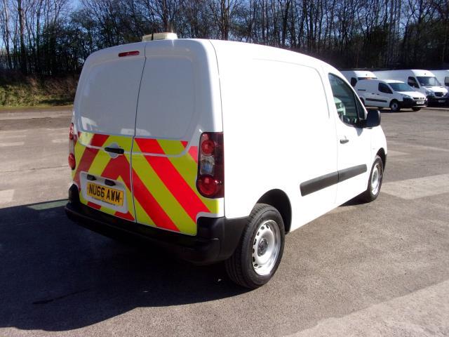 2016 Peugeot Partner 850 S 1.6 Hdi 92 Van [Sld] (NU66AWM) Image 9