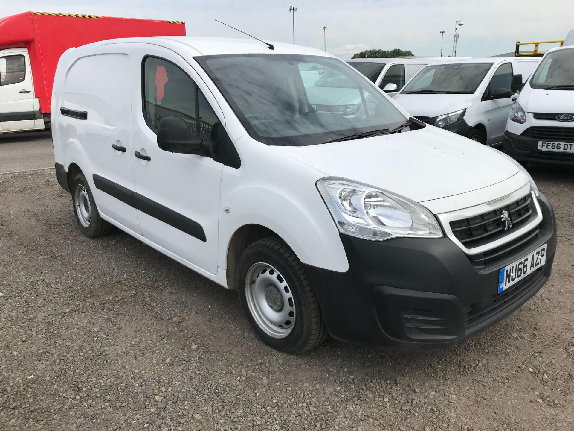 2016 Peugeot Partner 715 S 1.6 Bluehdi 100 Crew Van (NU66AZP)