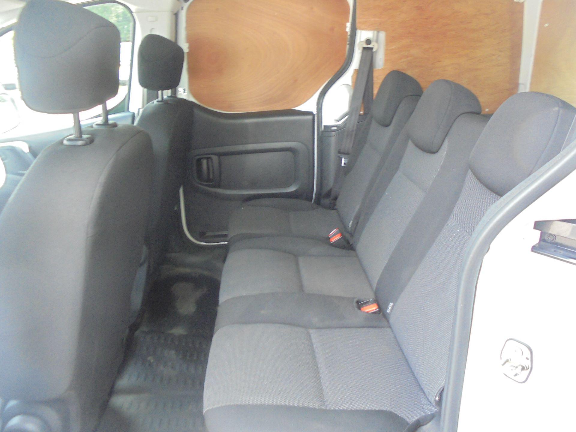 2016 Peugeot Partner 715 S 1.6 Bluehdi 100 Crew Van (NU66AZX) Image 11