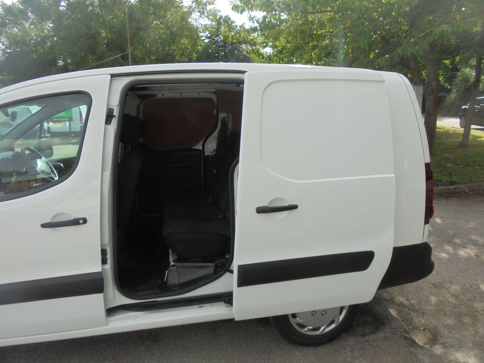 2016 Peugeot Partner 715 S 1.6 Bluehdi 100 Crew Van (NU66AZX) Image 10