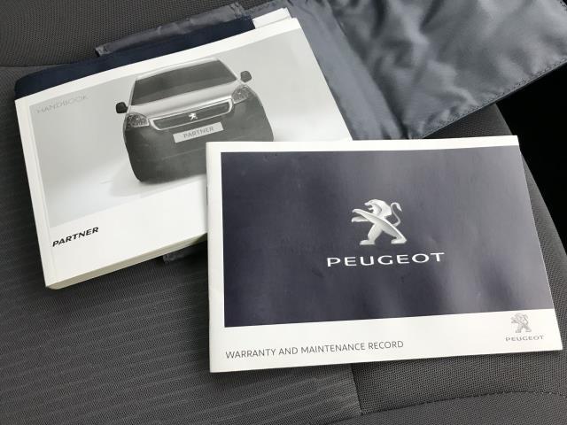 2016 Peugeot Partner L1 850 S 1.6BLUEHDI 100PS EURO 6 AIR CON  (NU66BWD) Image 29