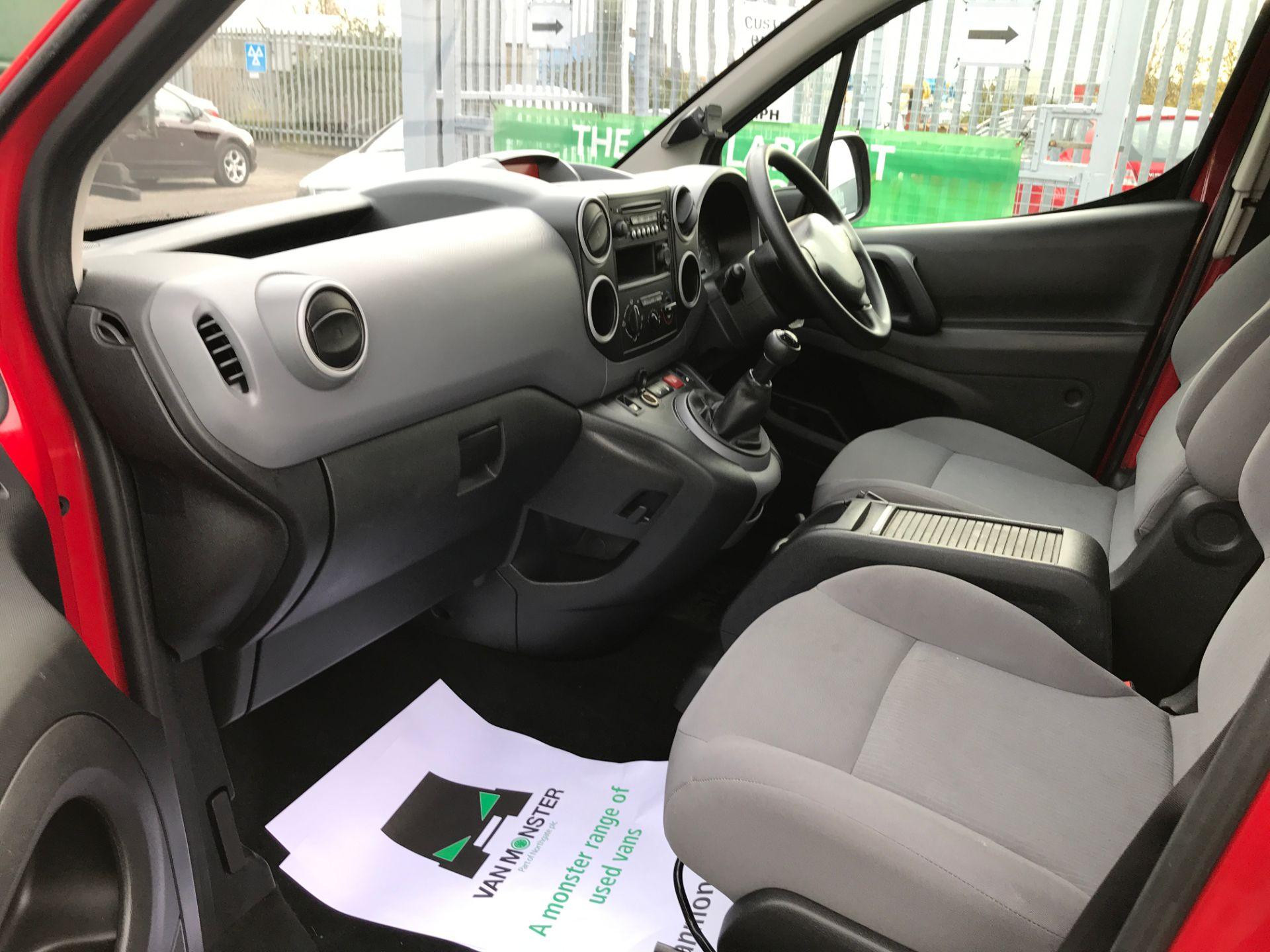 2016 Peugeot Partner L1 850 1.6BLUEHDI PROFESSIONAL 100PS EURO 6 (NU66BWE) Image 12