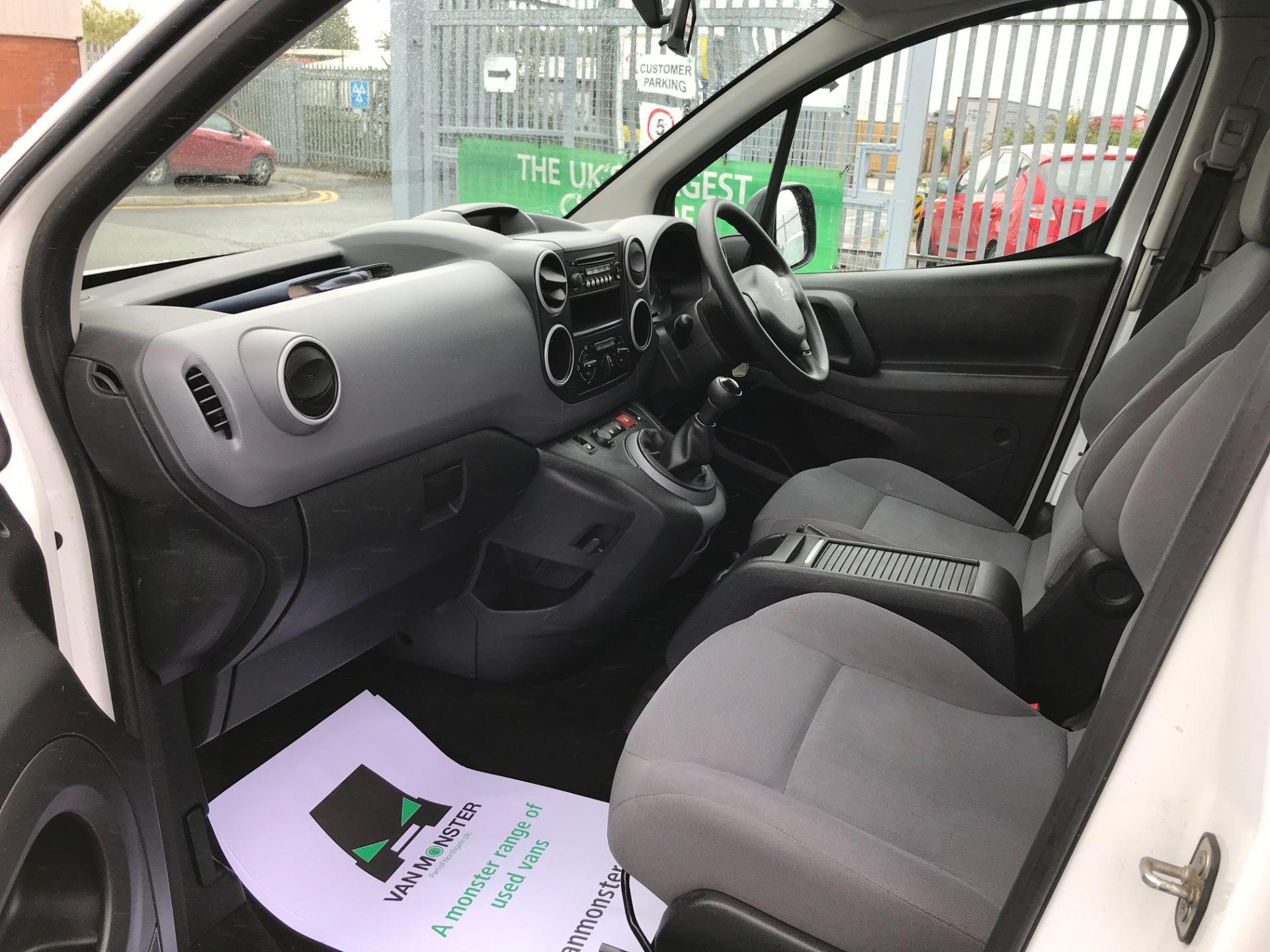 2016 Peugeot Partner L2 715 S 1.6HDI 92PS CREW VAN EURO 5 (NU66GHA) Image 12
