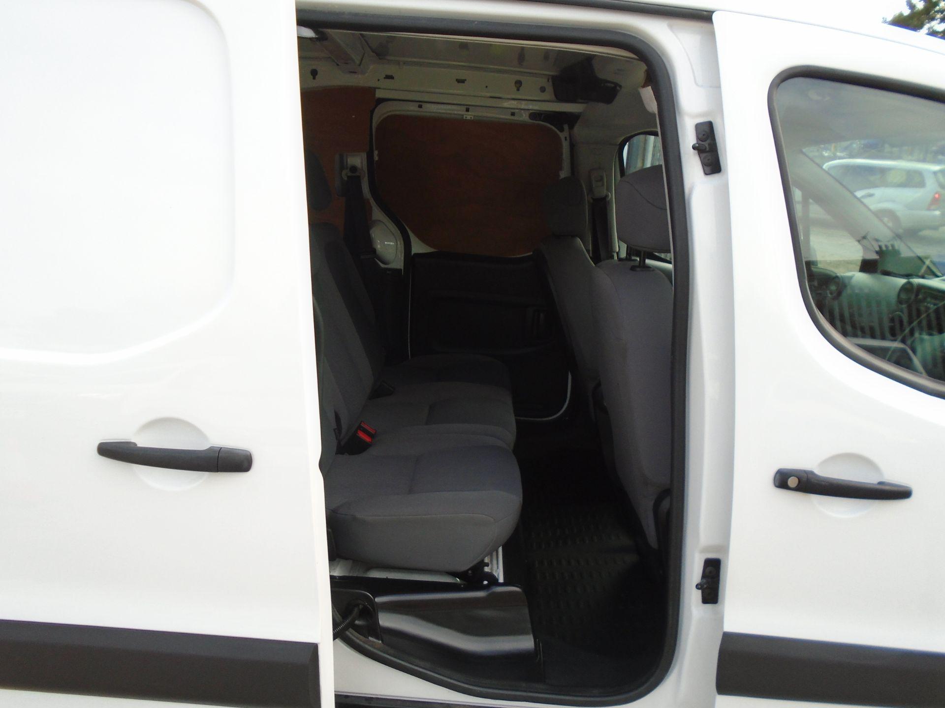 2016 Peugeot Partner 715 S 1.6 Hdi 92 Crew Van (NU66GHB) Image 12